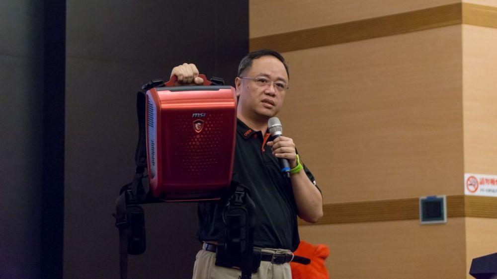 """MSI confirma """"computador-mochila"""" para realidade virtual"""