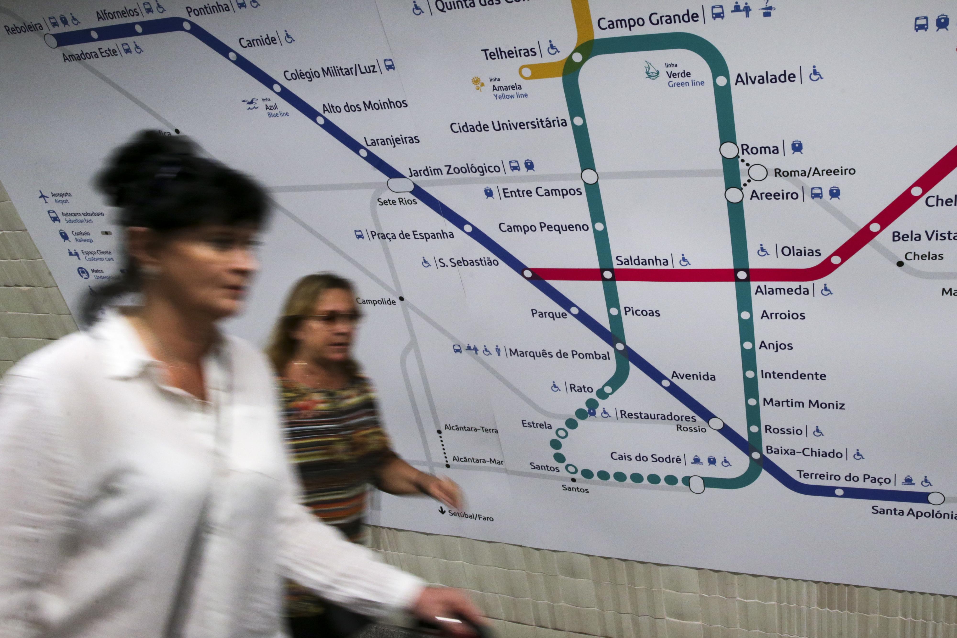 Obras do metro em Arroios têm 18 meses para estarem concluídas