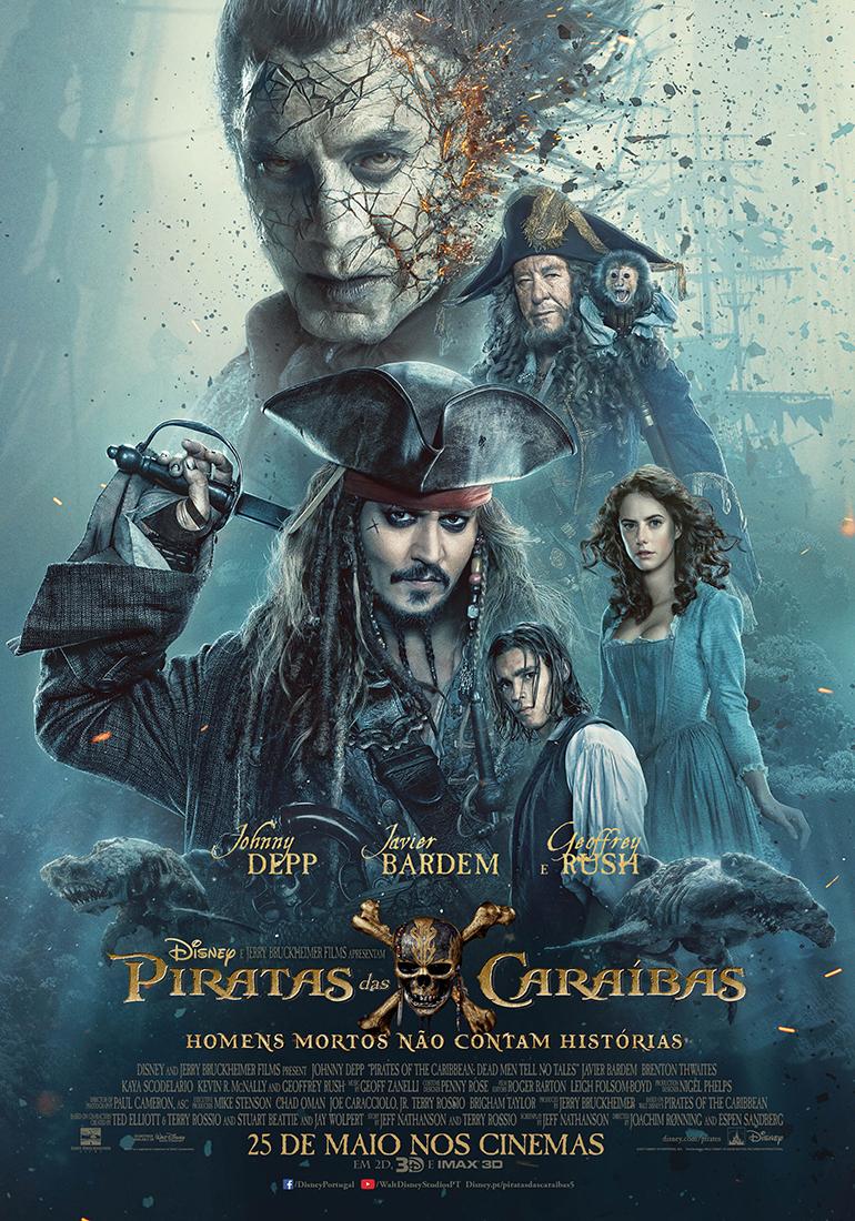 Piratas das Caraíbas: Homens Mortos Não Contam Histórias | SAPO ...