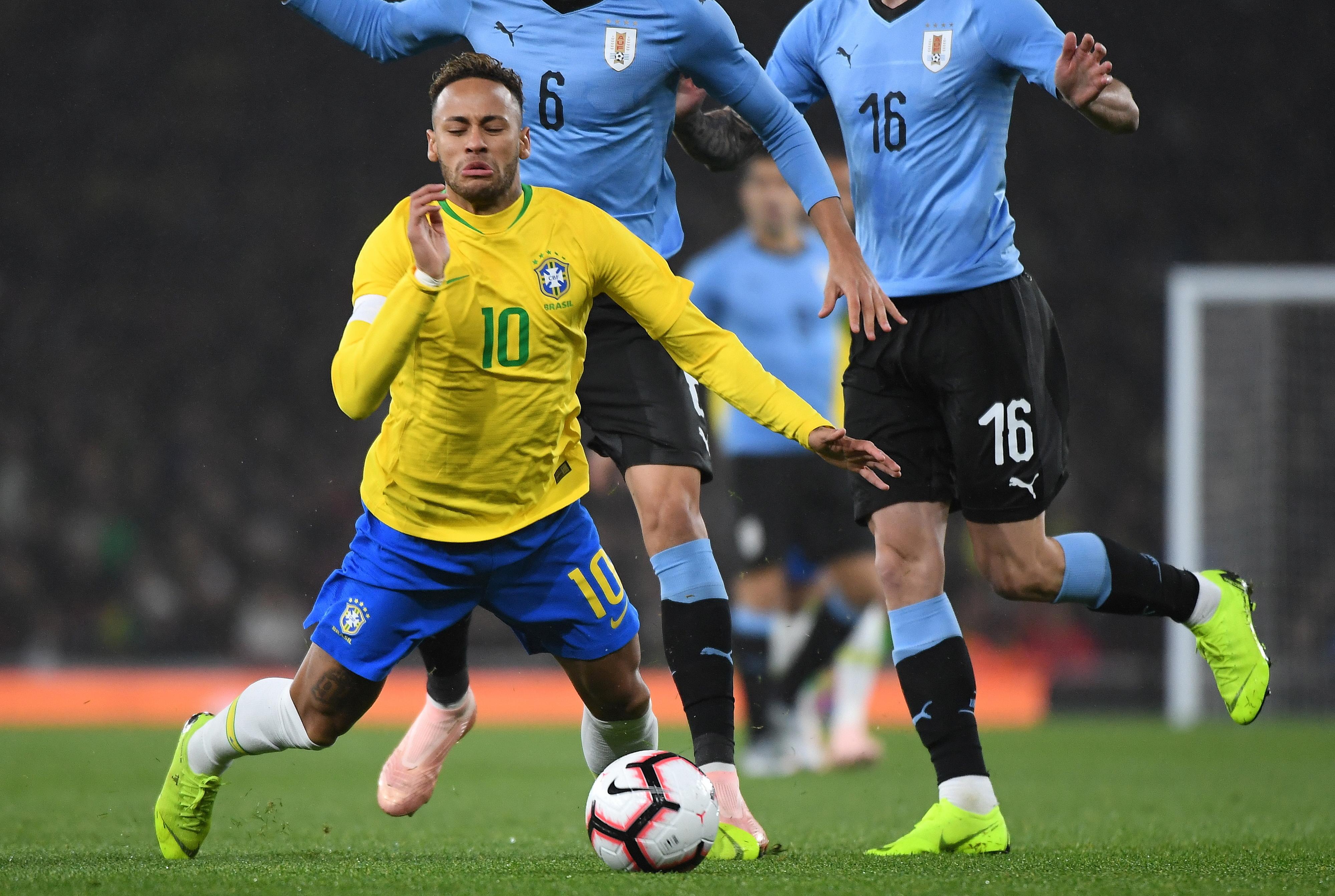 Neymar e Mbappé em dúvida para a Liga dos Campeões