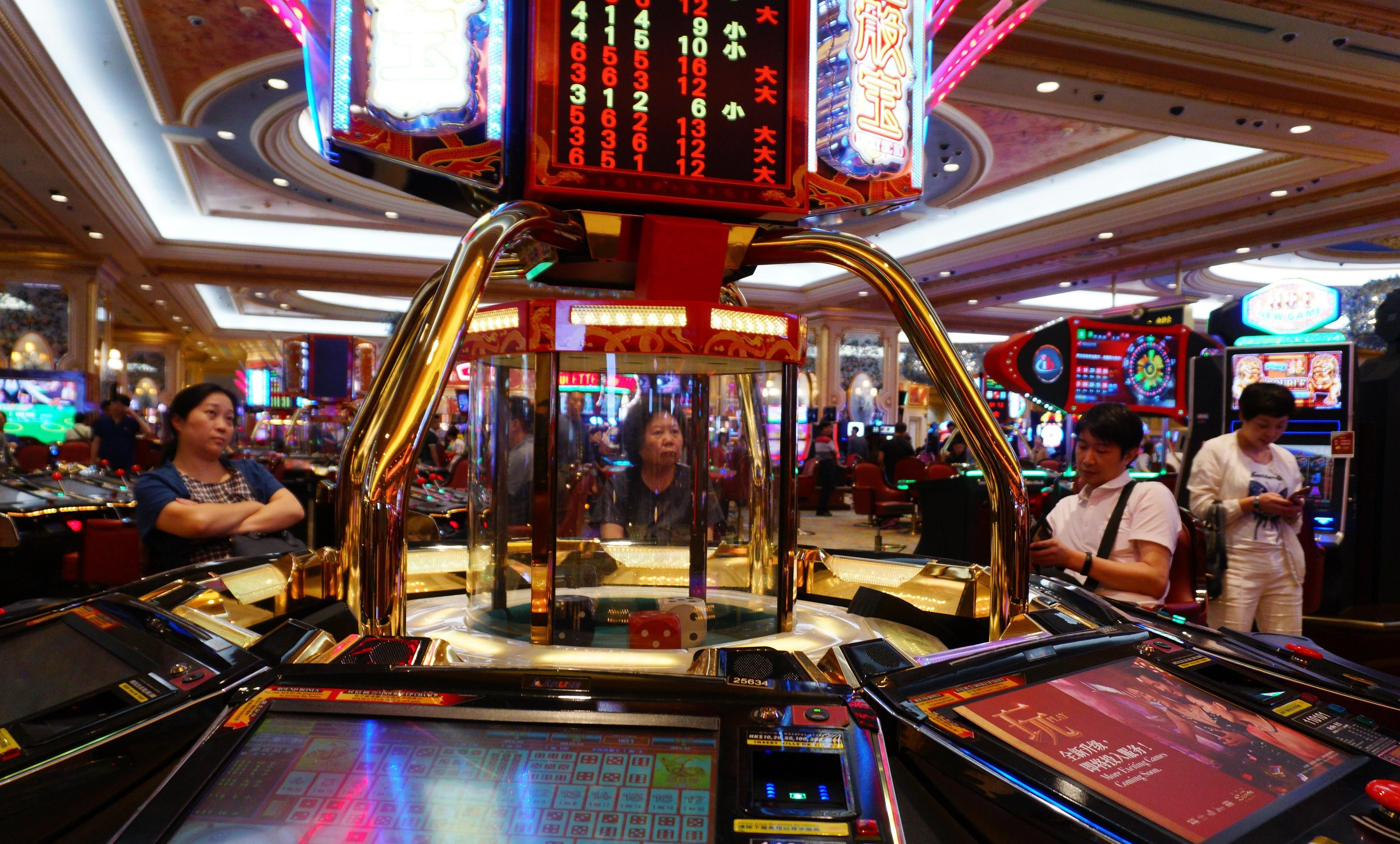 Peso da atividade do jogo na economia em Macau cresceu em 2017