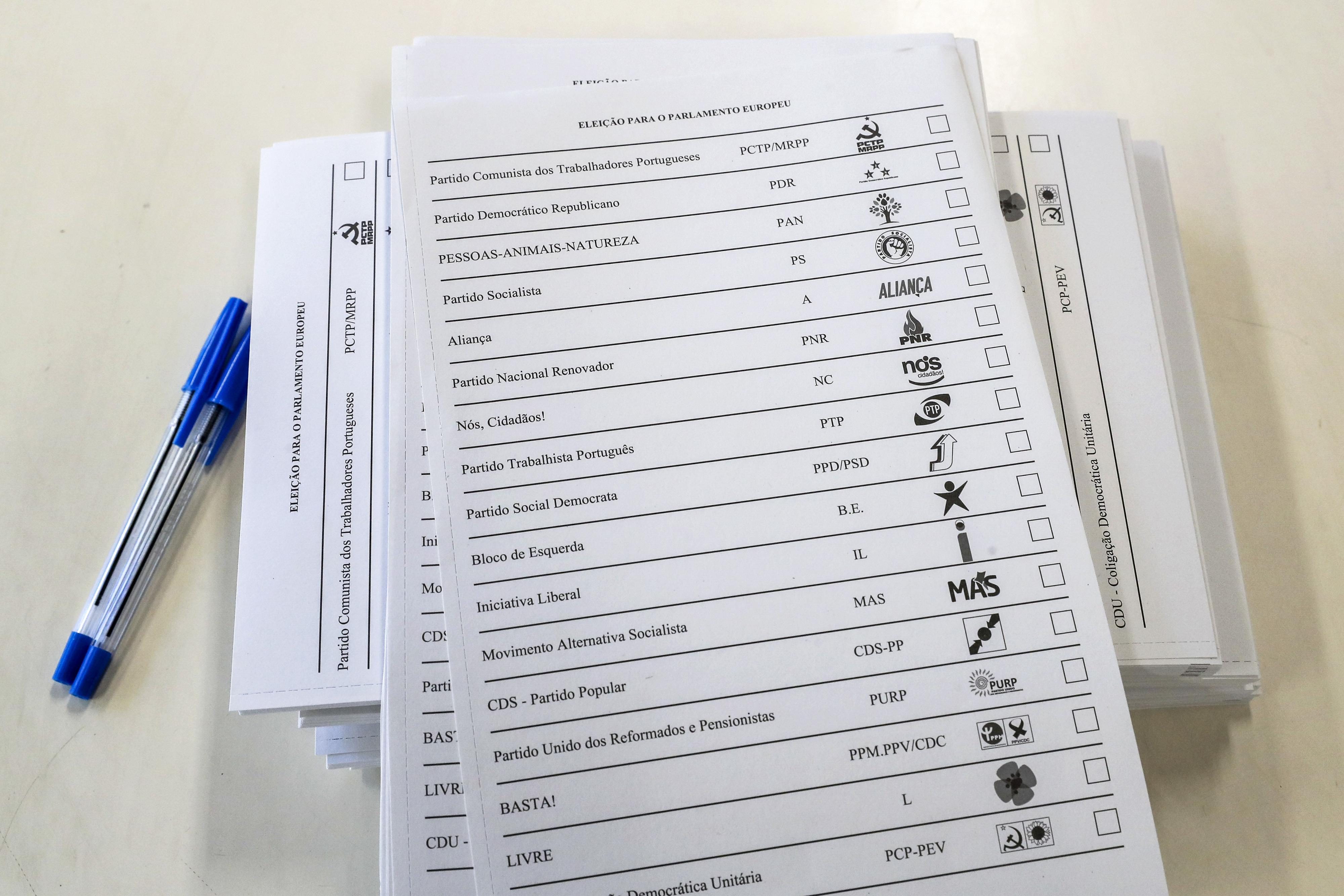 Sondagens televisivas dão PS vencedor e PAN a eleger um eurodeputado