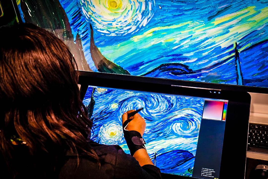Adobe cria simulador digital de pintura 3D com a ajuda da Nvidia