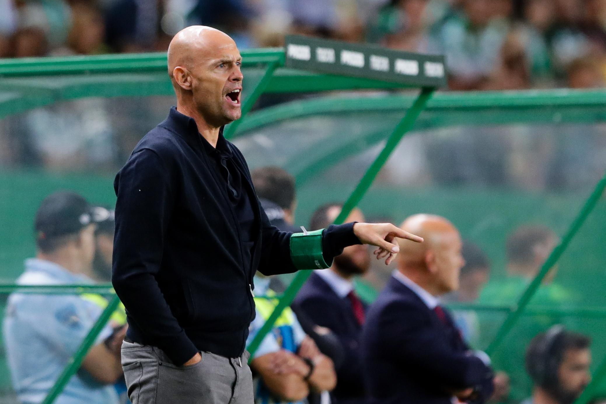 Keizer garante Sporting preparado para o Portimonense mesmo sem Bas Dost