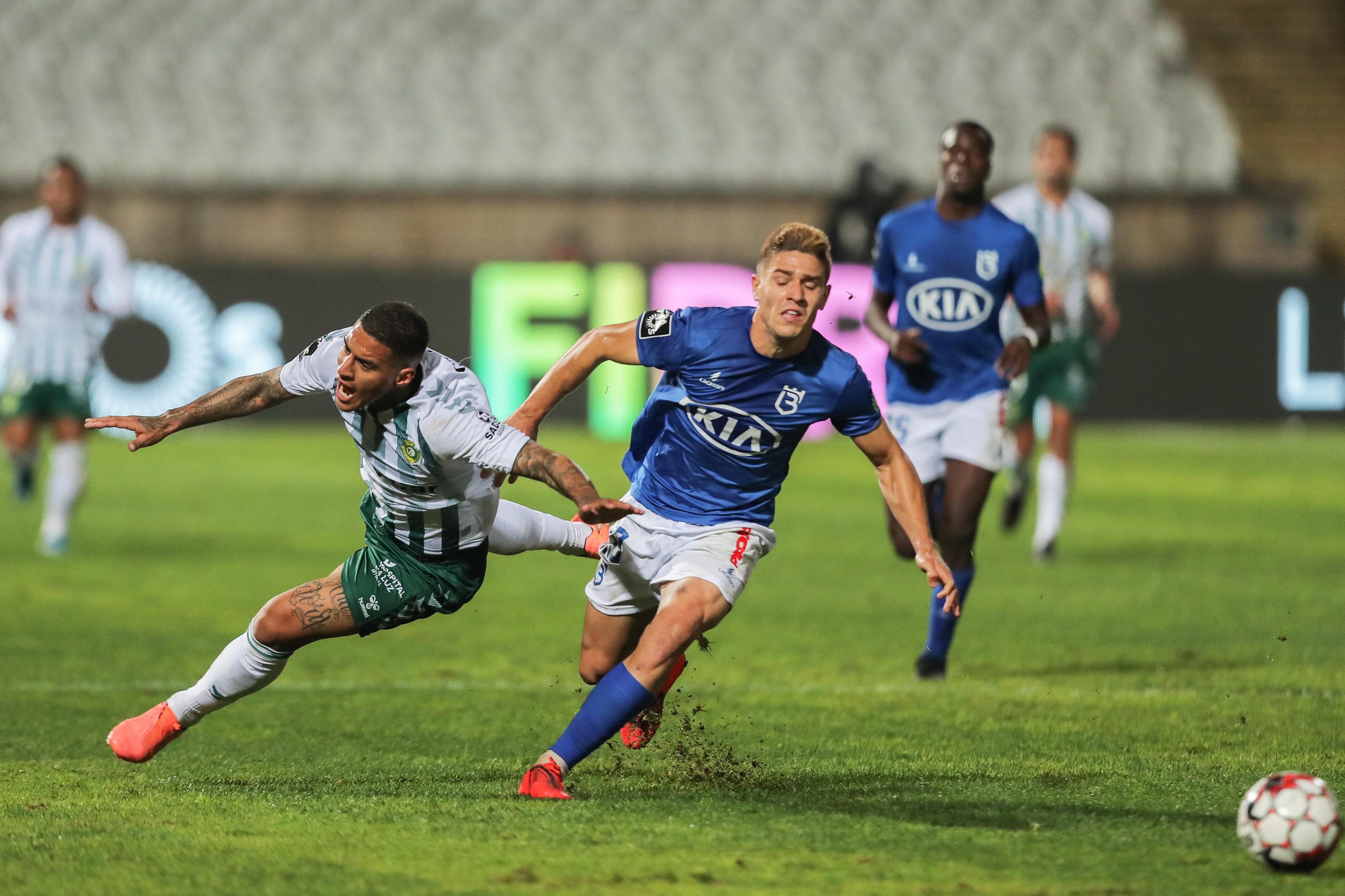 Vitória de Setúbal vence Belenenses com golo de Guedes