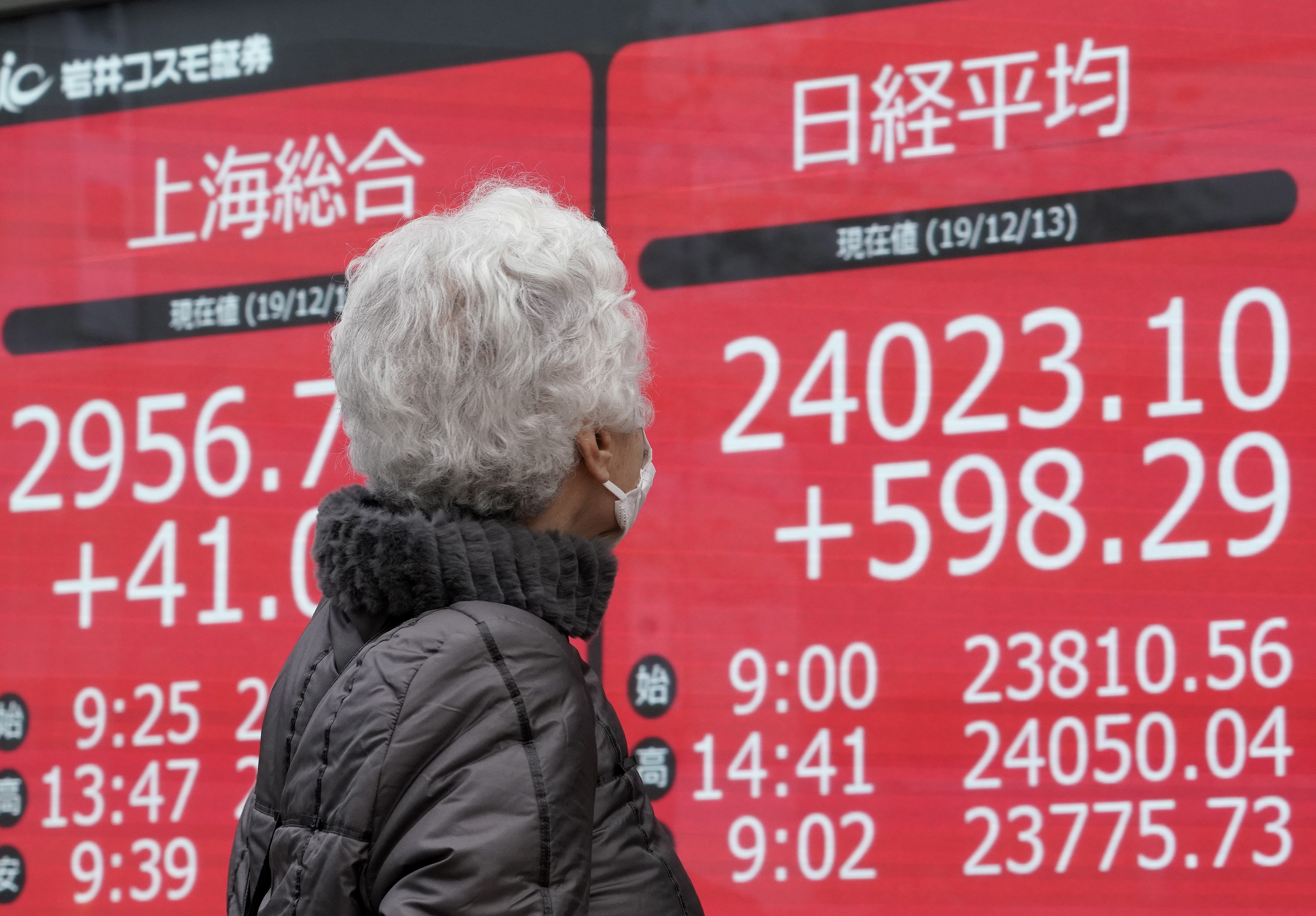 Bolsa de Tóquio ganha 0,23% na abertura