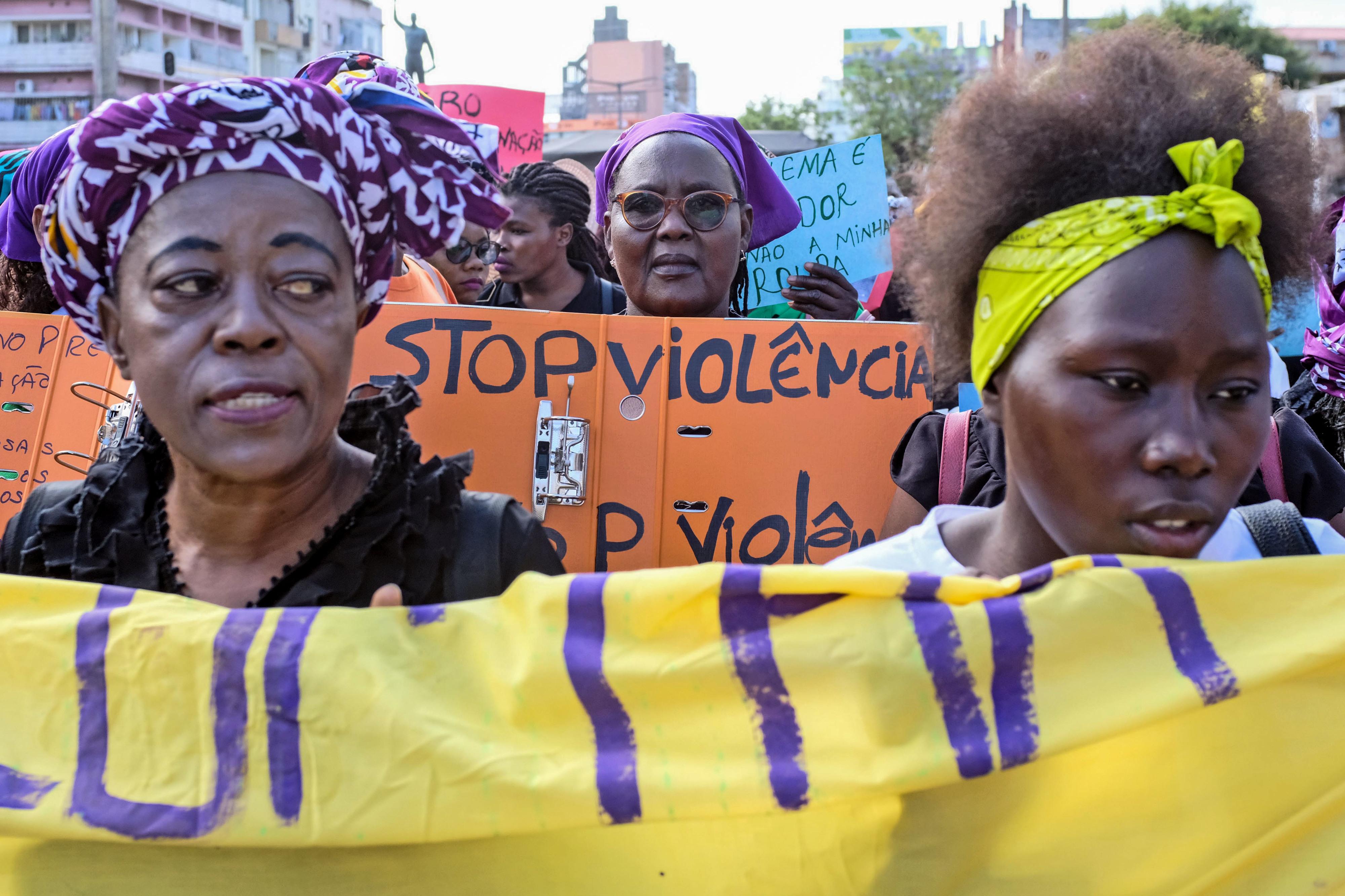 Isabel ganhou coragem para exigir fim da violência contra as mulheres em Moçambique