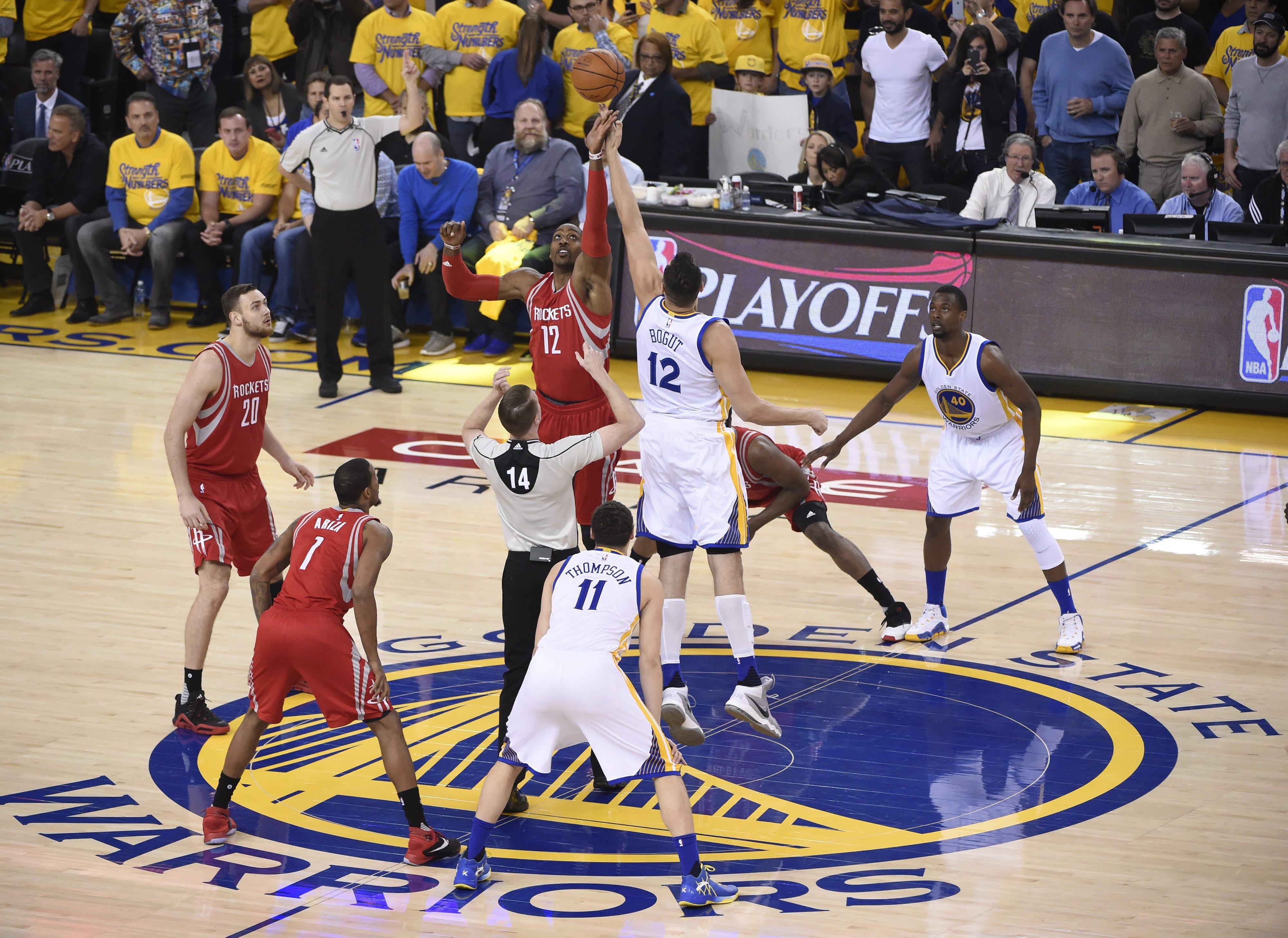Warriors apuram-se para as meias-finais da Conferência Oeste da NBA