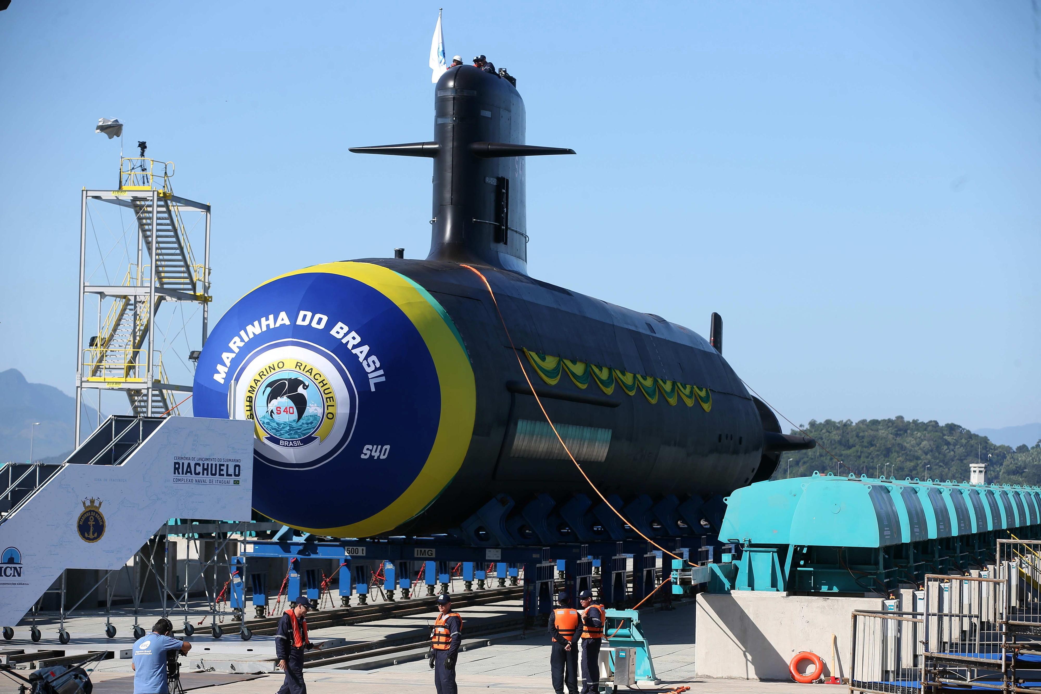 PR brasileiro diz que programa de submarinos é apenas para defesa da soberania