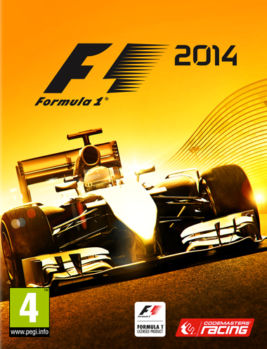 F1 2014 cover