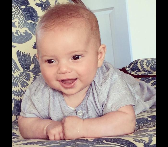 Este bebé adorável é neto de Donald Trump