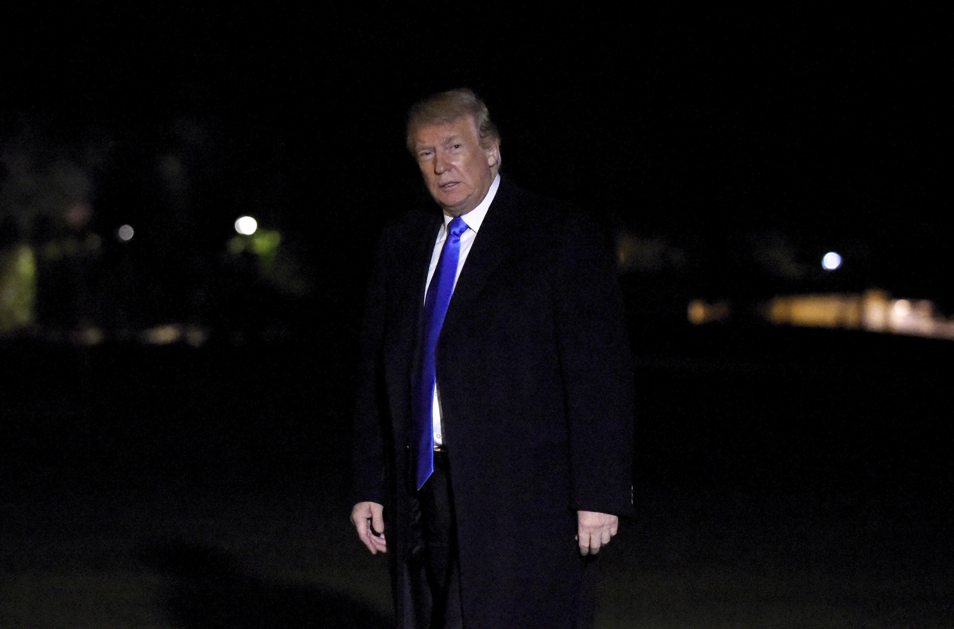 Trump insatisfeito com explicações de Riade