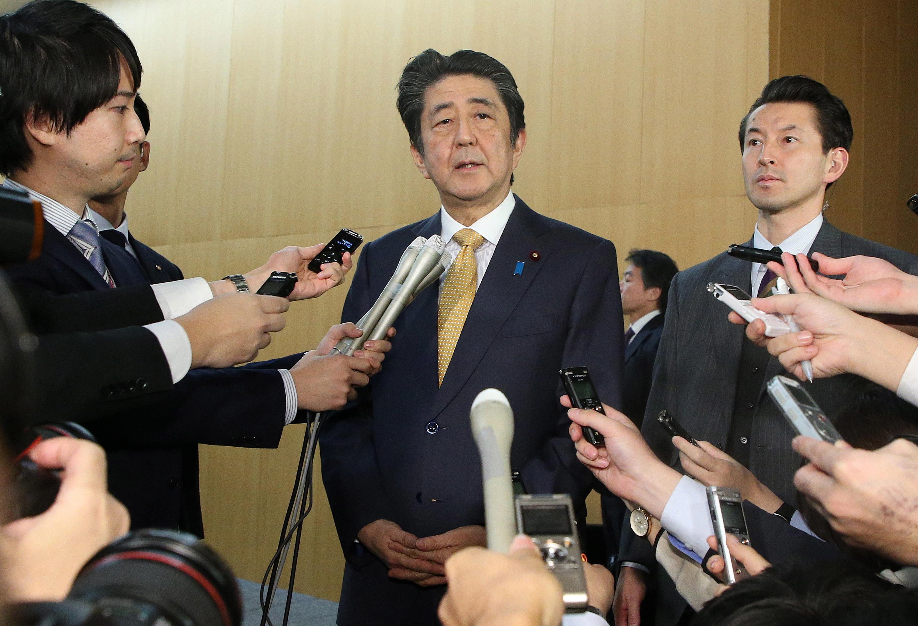 PM japonês lança plano de apoio à economia do Japão