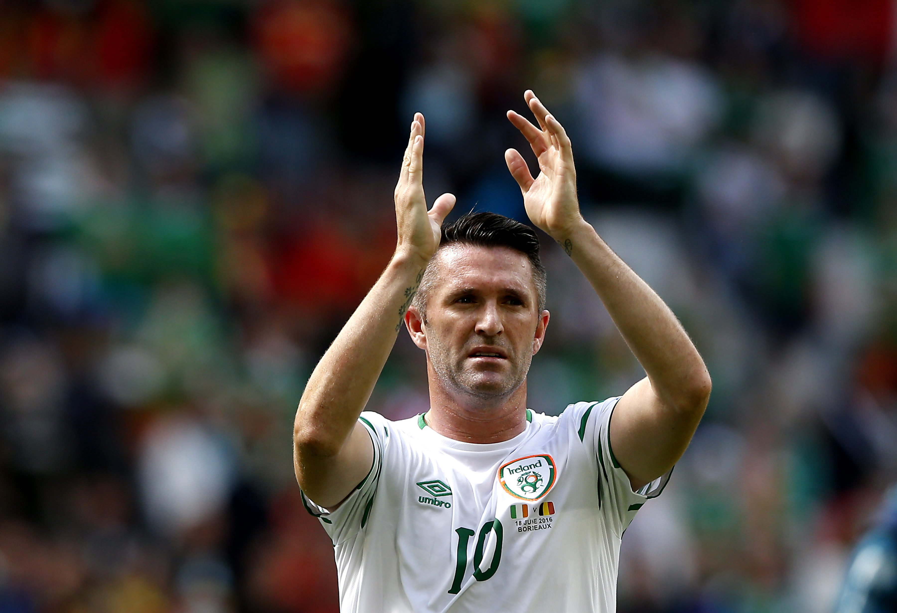 Robbie Keane abandona seleção irlandesa