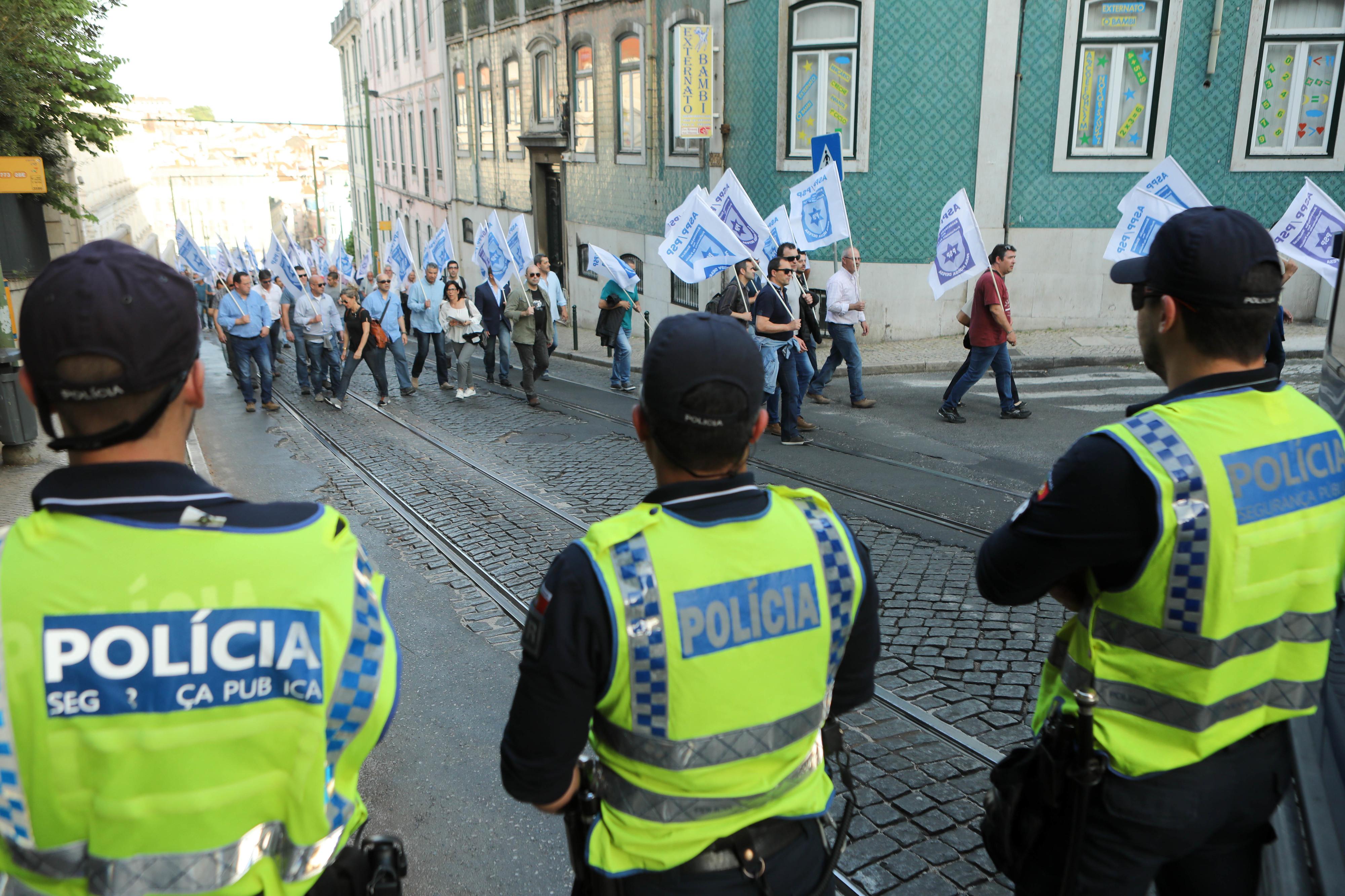 PSP e GNR manifestam-se hoje para exigir ao Governo o cumprimento de promessas