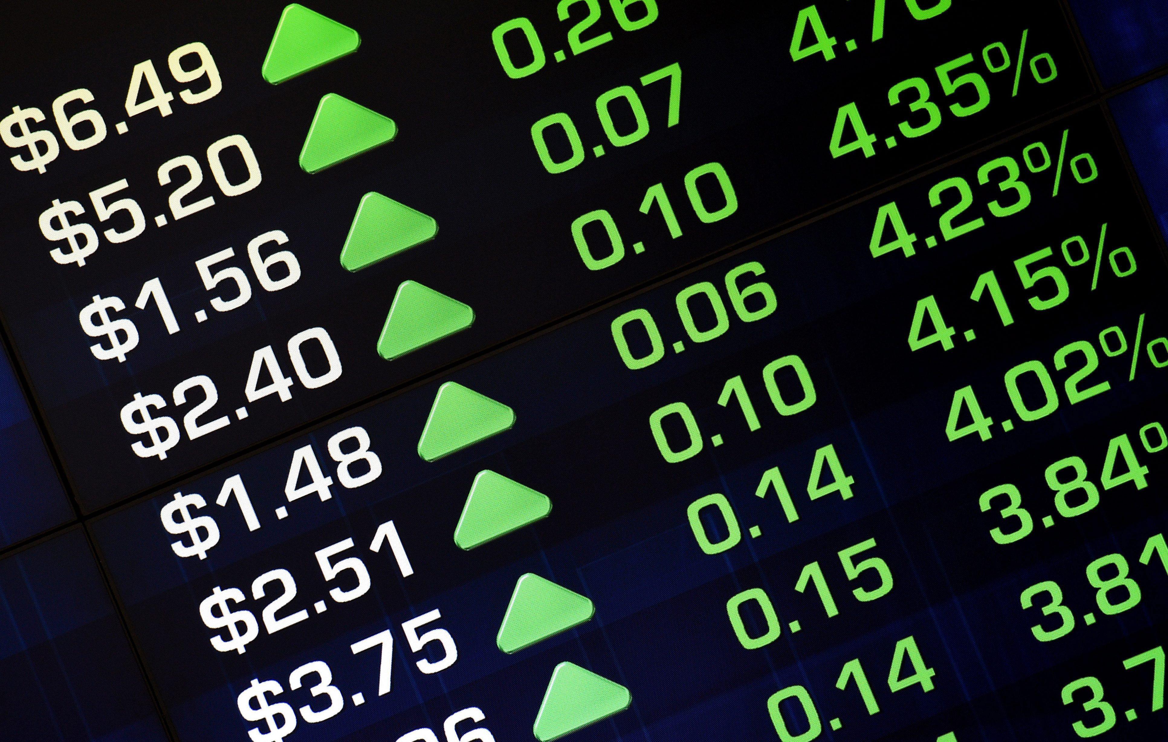 Wall Street fecha com os seus três índices emblemáticos em níveis inéditos