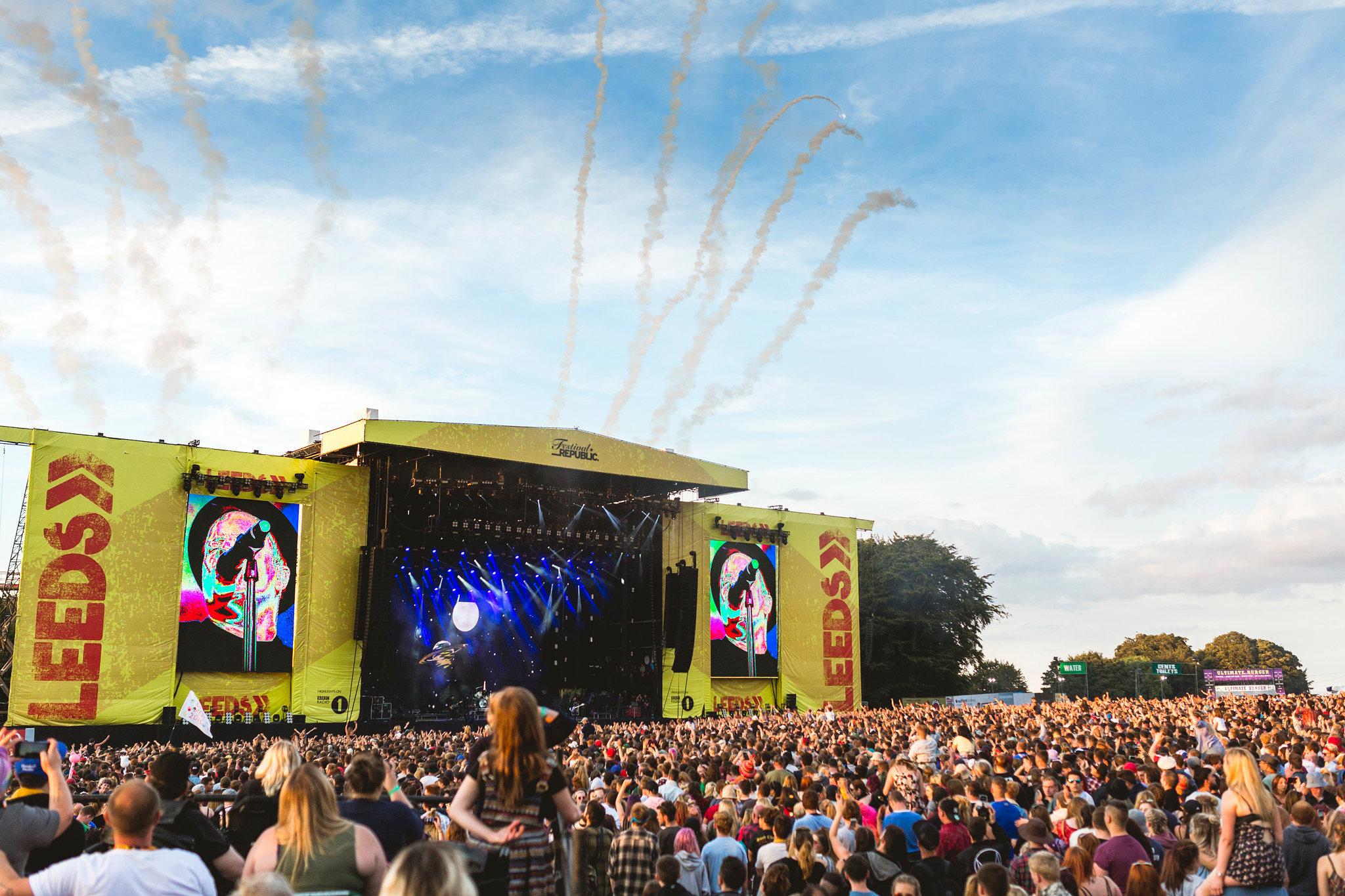 Jovem morre no Leeds Festival, no Reino Unido