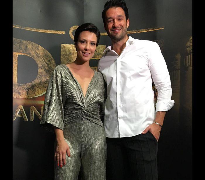 Atores brasileiros promovem filme em Portugal