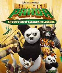 Kung Fu Panda Showdown of Legendary Legends cover