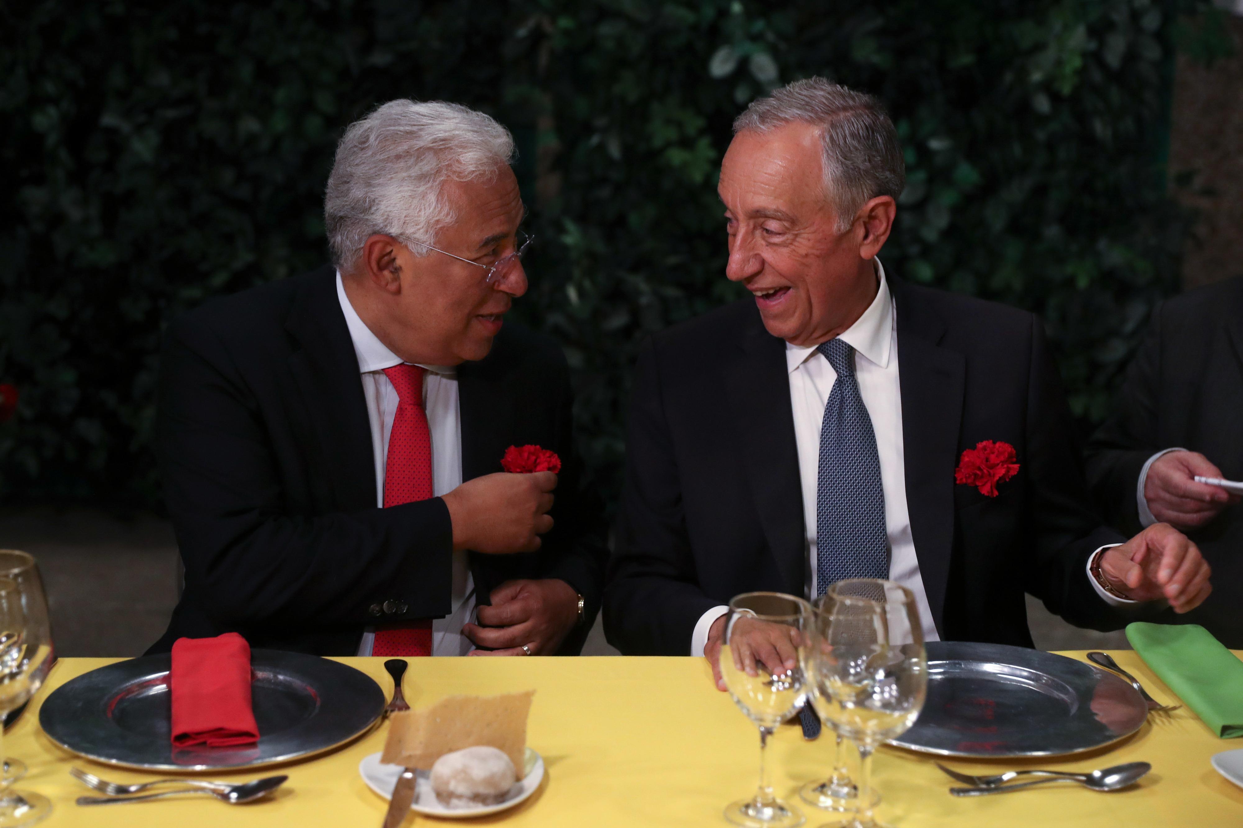 Costa afirma que há hoje uma grande reconciliação nacional