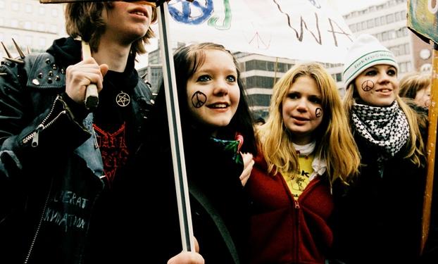 Comemoração do Dia Internacional da Mulher em Estocolmo. Foto: Karin Beate Nøsterud/norden.org