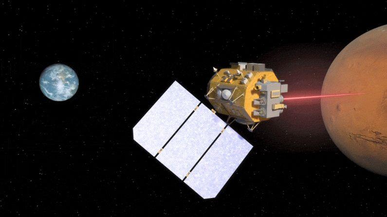 """NASA está a criar uma """"internet a laser"""" a pensar nas comunicações entre planetas"""