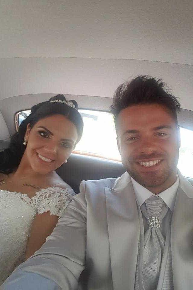 Divulgada a primeira fotografia do casamento dos ex-Casa dos Segredos