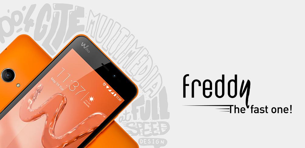 Freddy: o novo telemóvel da Wiko que quer ser mais rápido que os outros