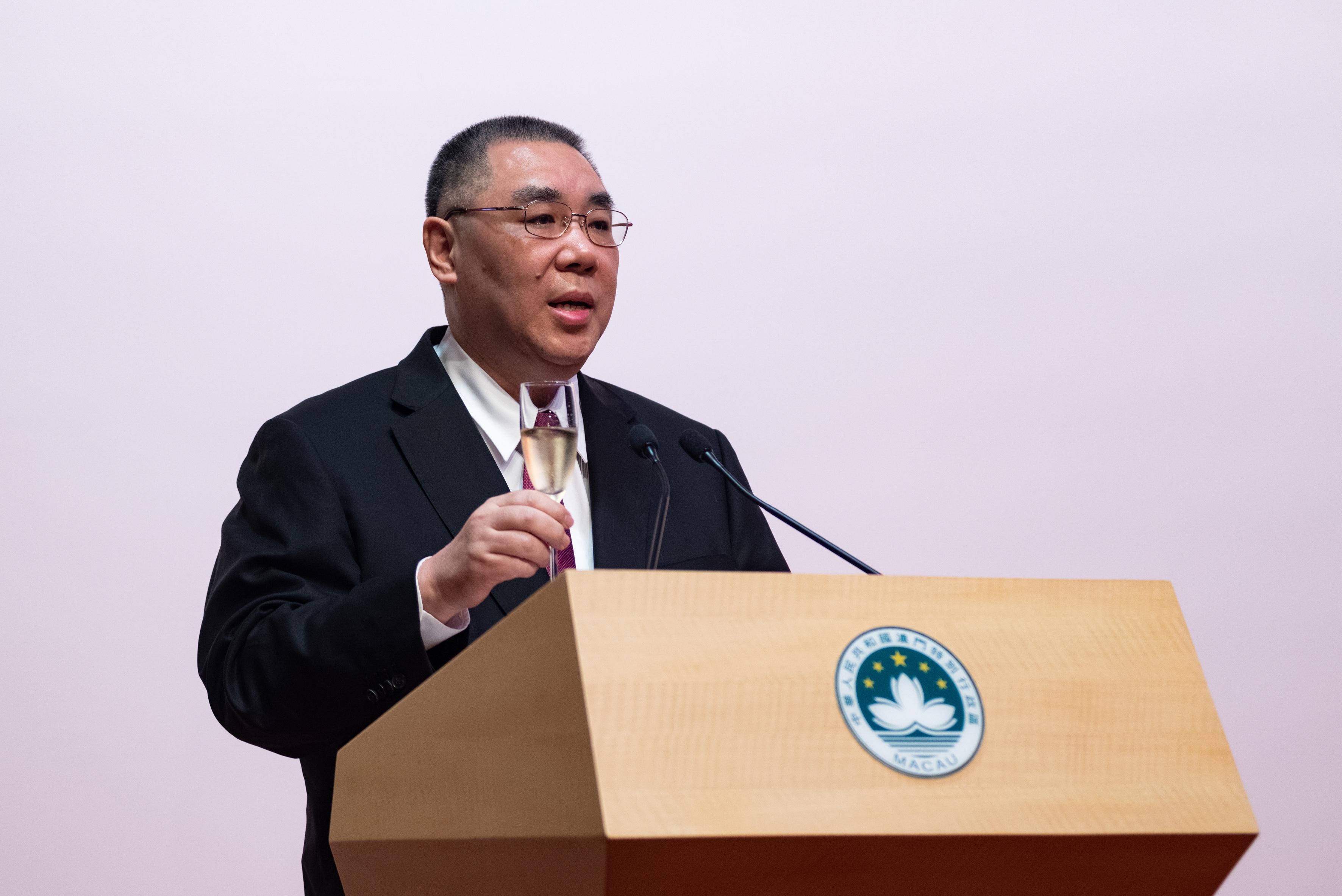 Mandato marcado pela estabilidade, crescimento económico e lealdade ao país - Líder de Macau