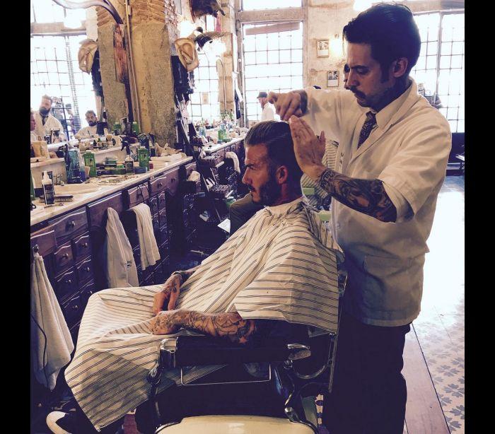 David Beckham corta o cabelo… em Portugal