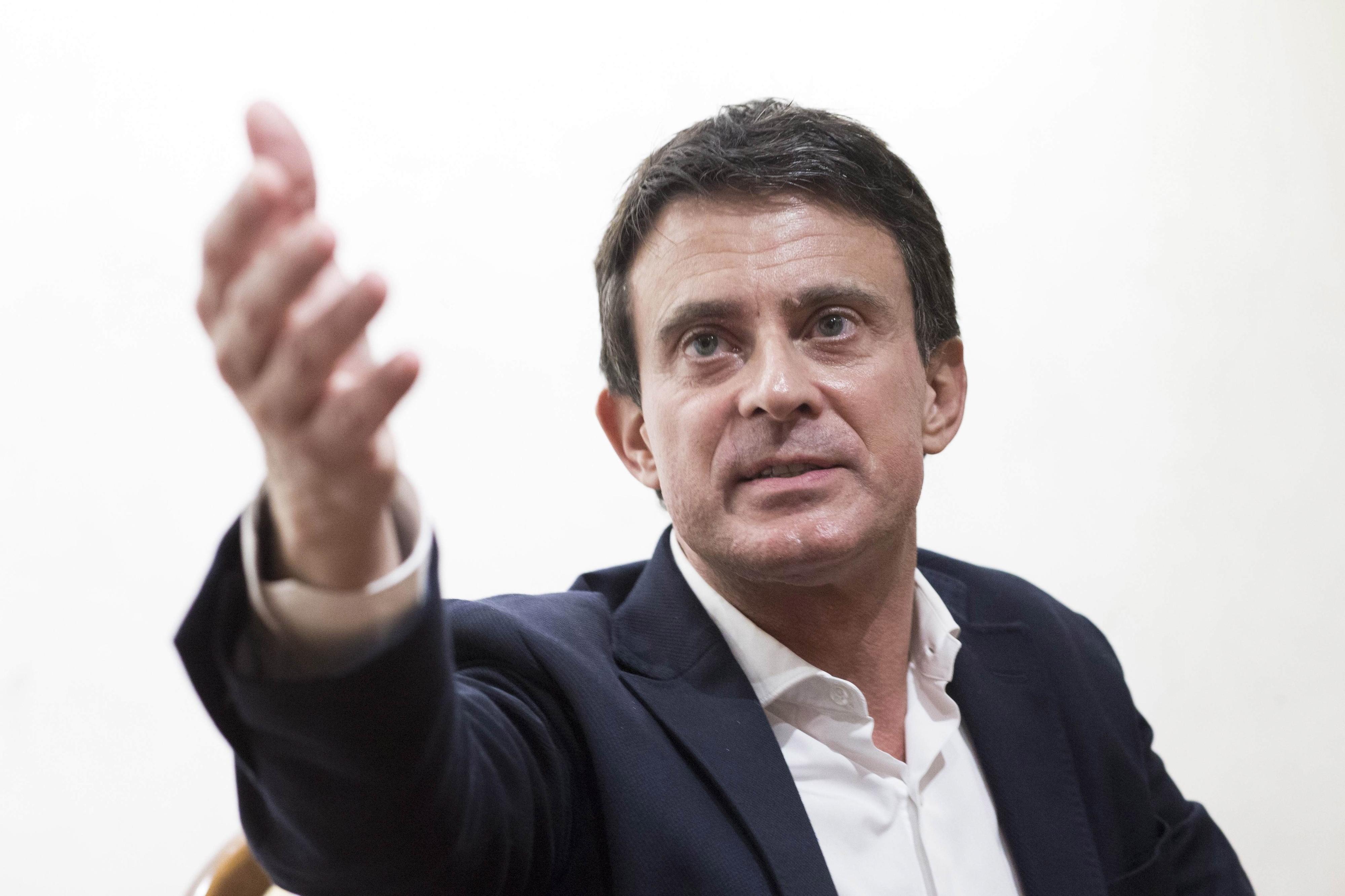 Manuel Valls lançou hoje campanha como candidato à Câmara de Barcelona