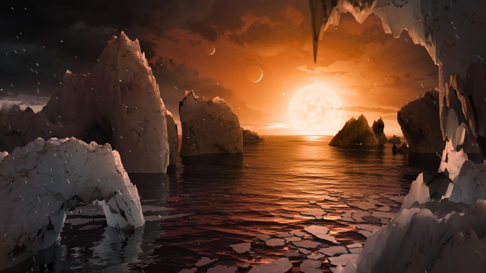 """Sete planetas semelhantes à Terra descobertos em constelação """"vizinha"""""""