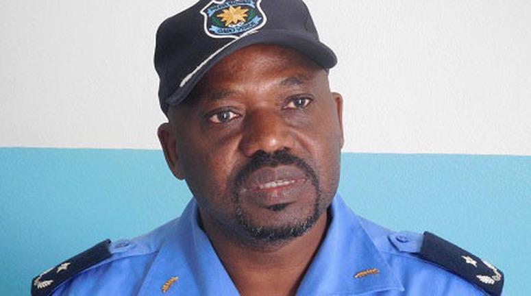 Comandante da Esquadra de Polícia de São Nicolau - Estevão Tavares