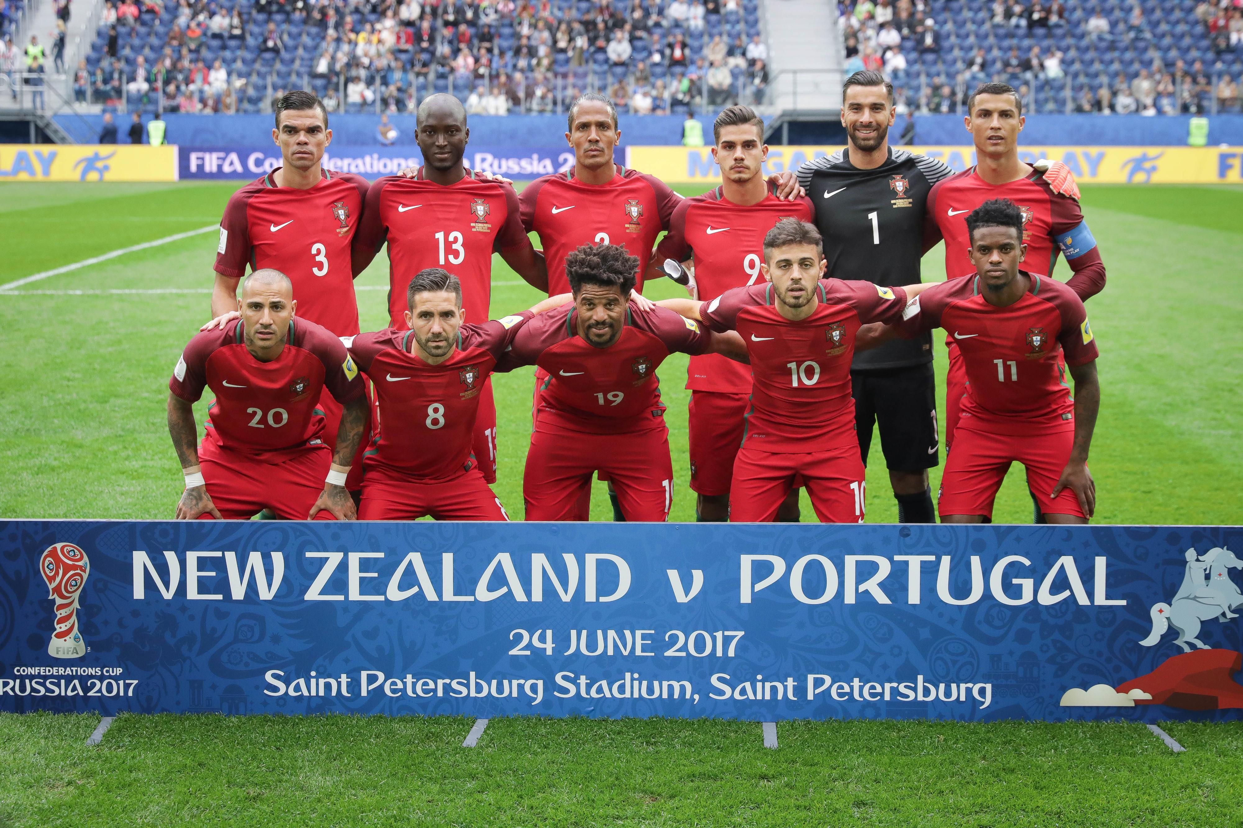 Portugal defronta Chile, após empate dos sul-americanos frente à Austrália