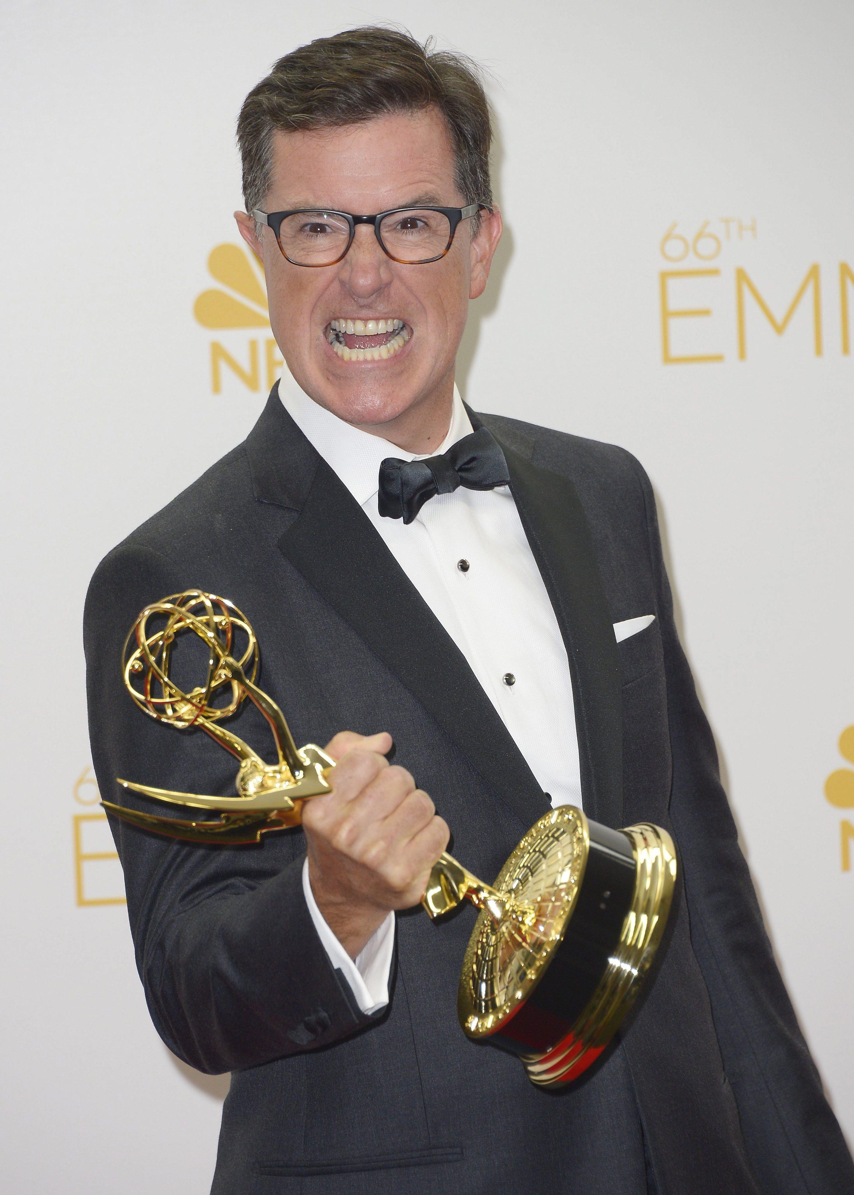 Stephen Colbert vai apresentar a cermónia dos Emmys