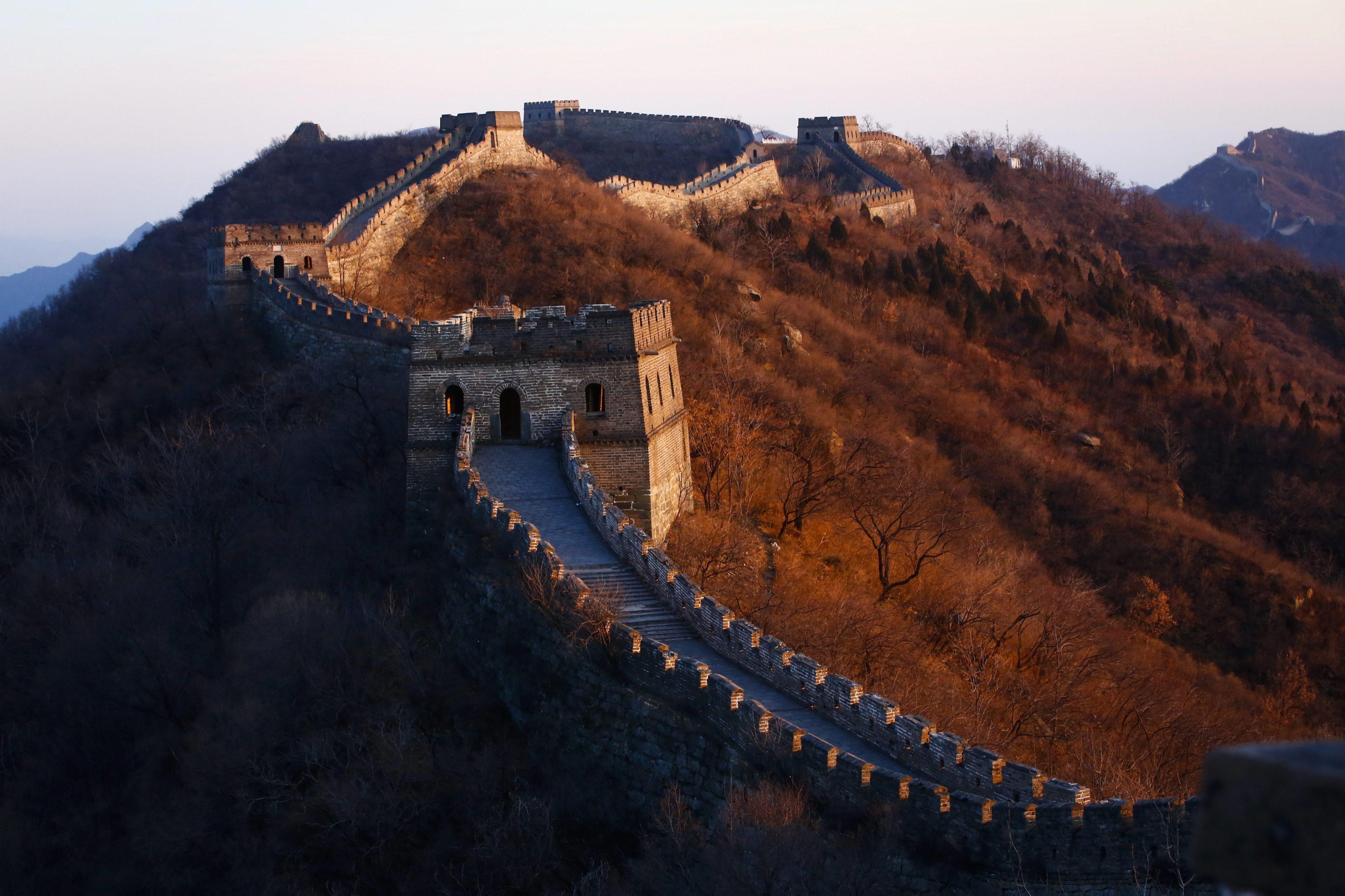 China anuncia encerramento de partes da Grande Muralha e outros monumentos