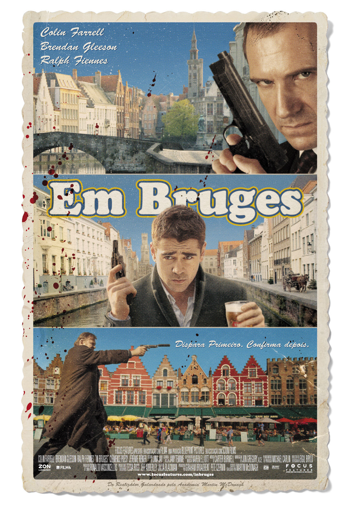 in bruges for the oscar In bruges, written and directed by martin mcdonagh, is by and far the best movie of 2008, certainly better than several of the best picture oscar contenders, and while worthy of a best orignal screenplay nomination, it's certaily worth more than that.