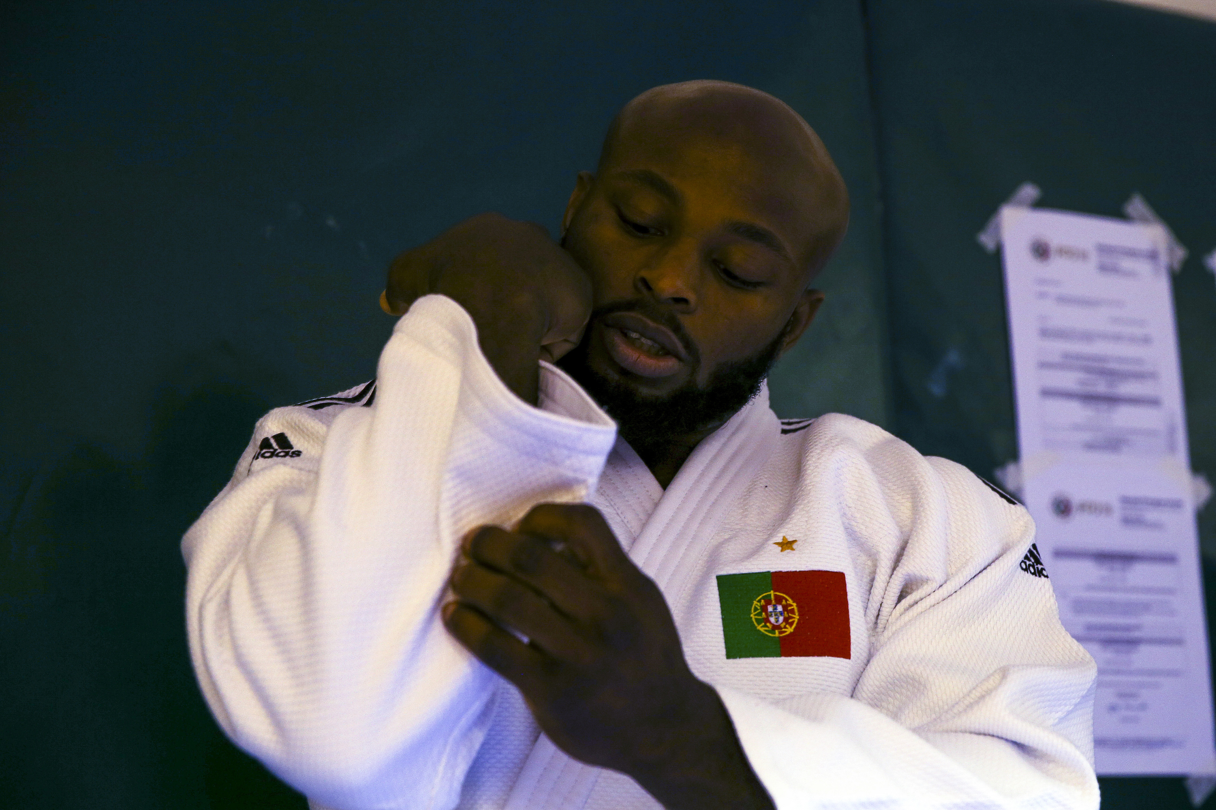 Jorge Fonseca eliminado na segunda ronda do Masters de judo