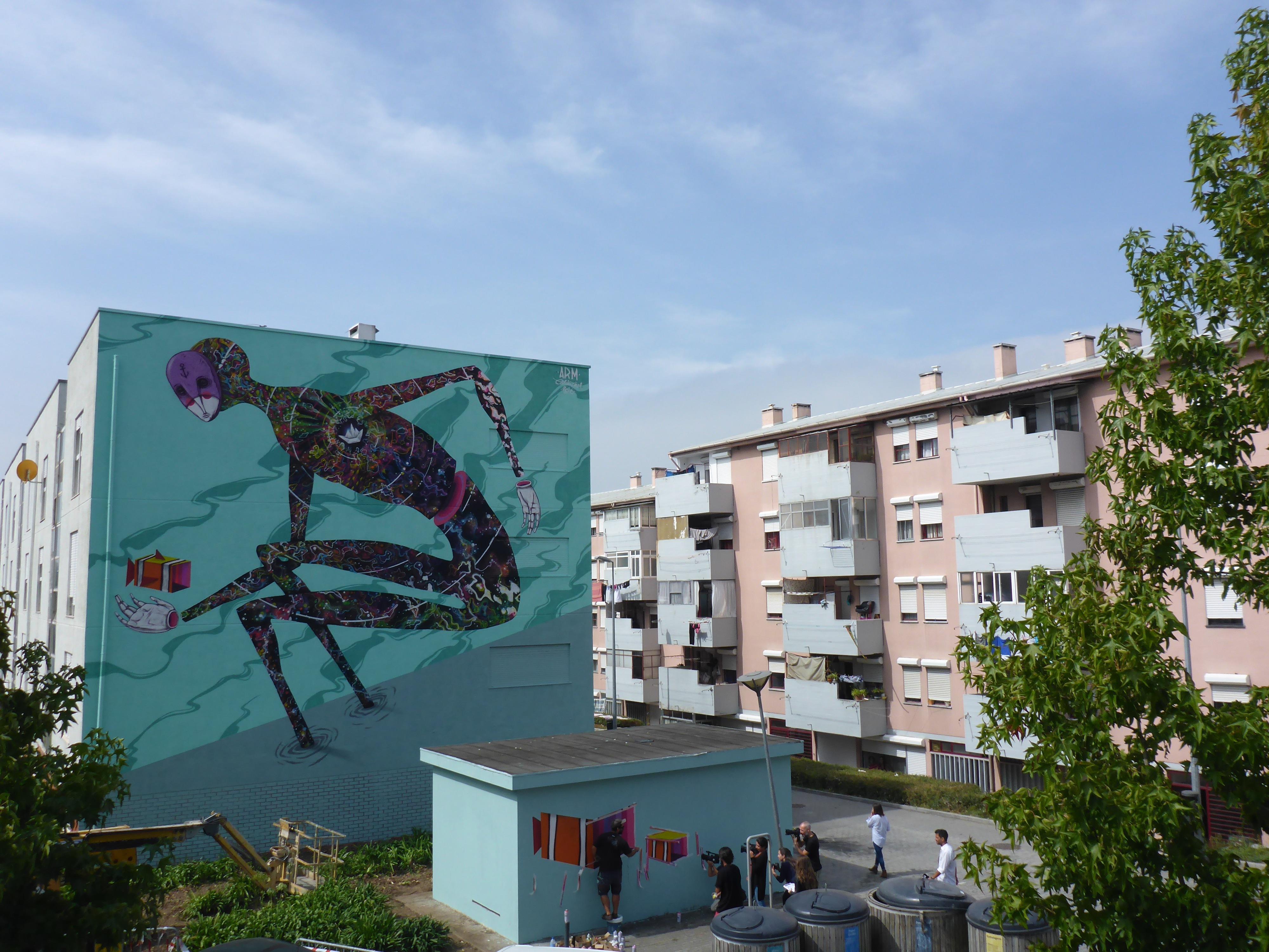 Fomos conhecer a rota de arte urbana de Matosinhos