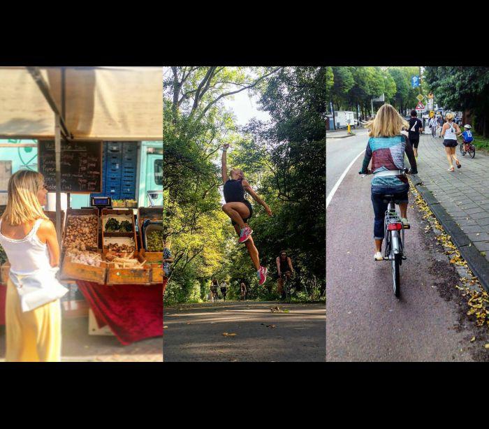 As férias de Isabel Silva... sobre duas rodas
