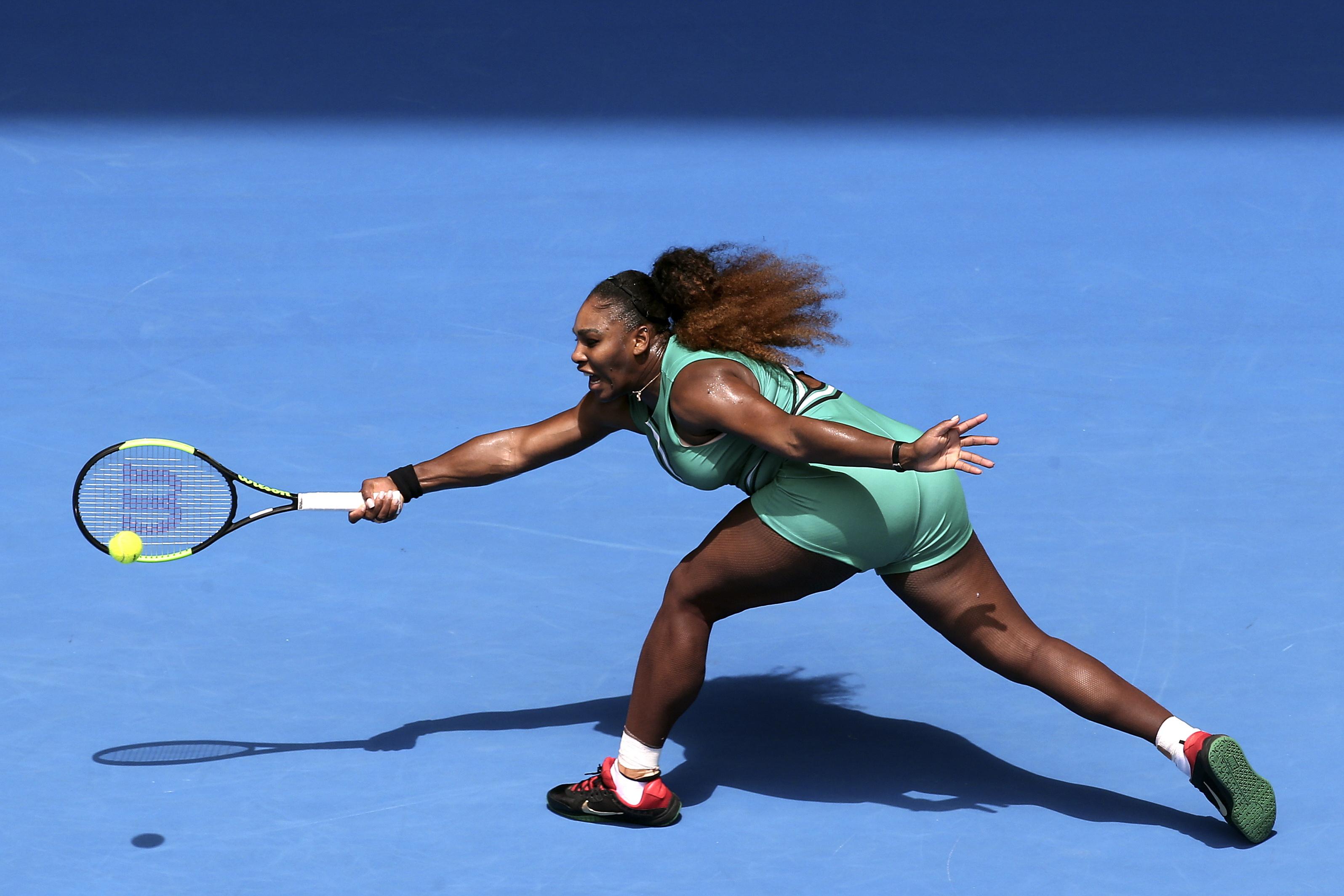 Serena Williams qualifica-se para os oitavos de final do Open da Austrália