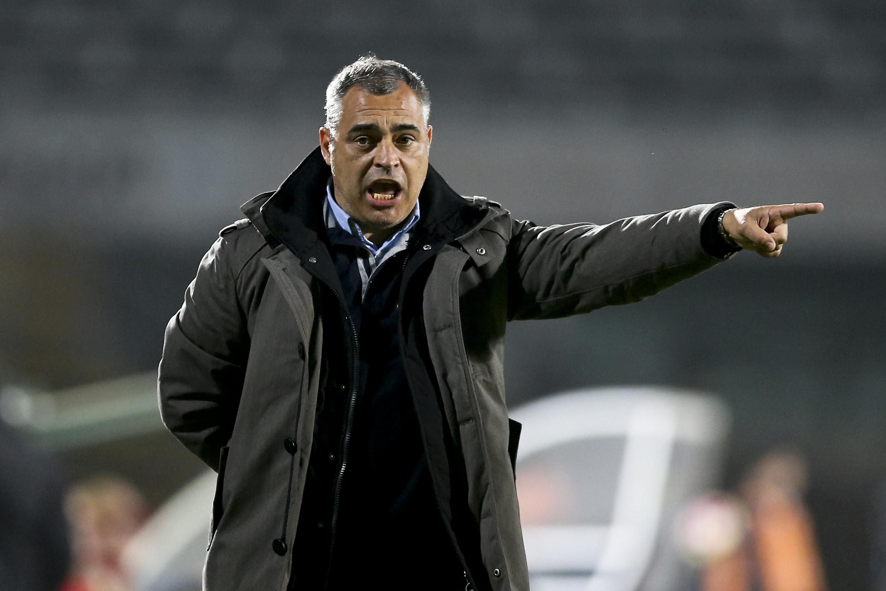Couceiro diz que meia-final da Taça da Liga com Braga será decidida por pormenores