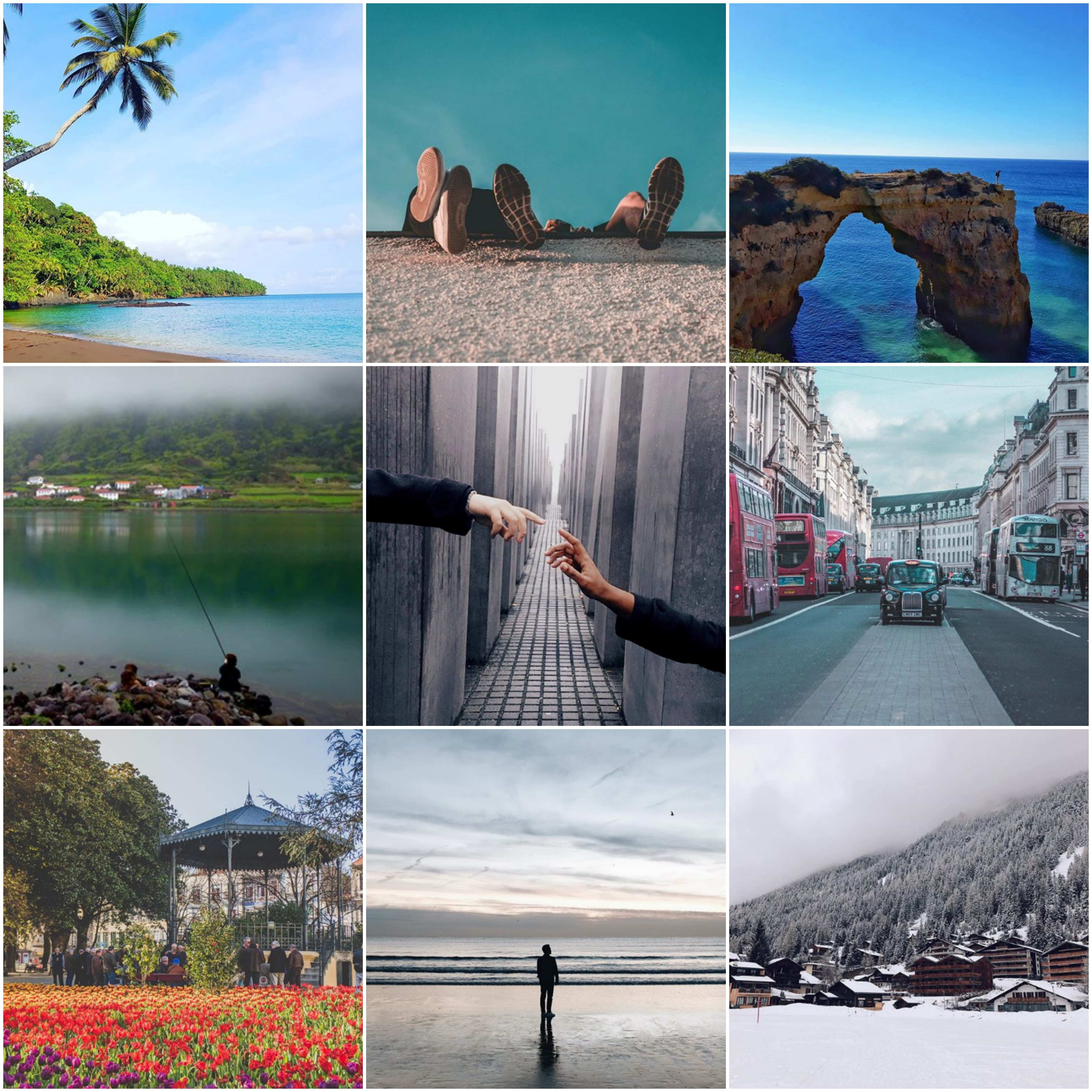 Viagens de Instagram: A primavera chegou. Vamos viajar?