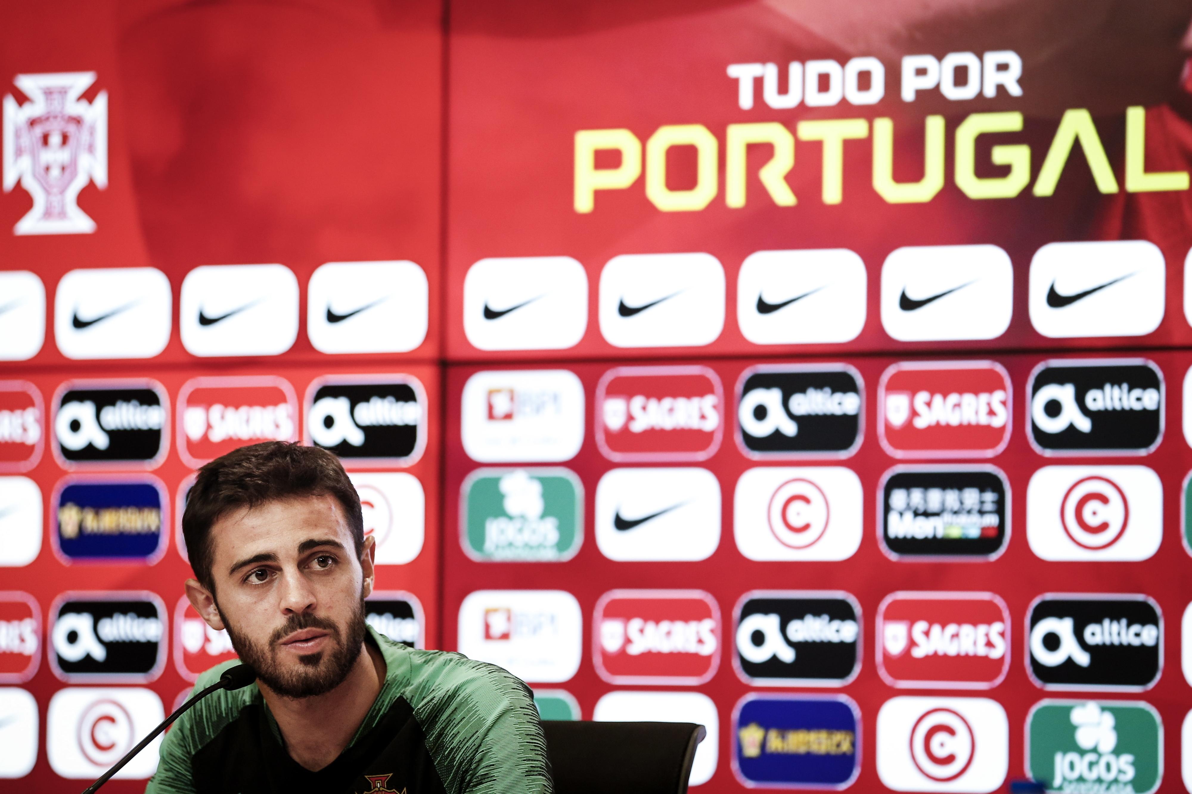 """Guardiola diz que Bernardo Silva """"já é a principal estrela"""" da seleção portuguesa"""