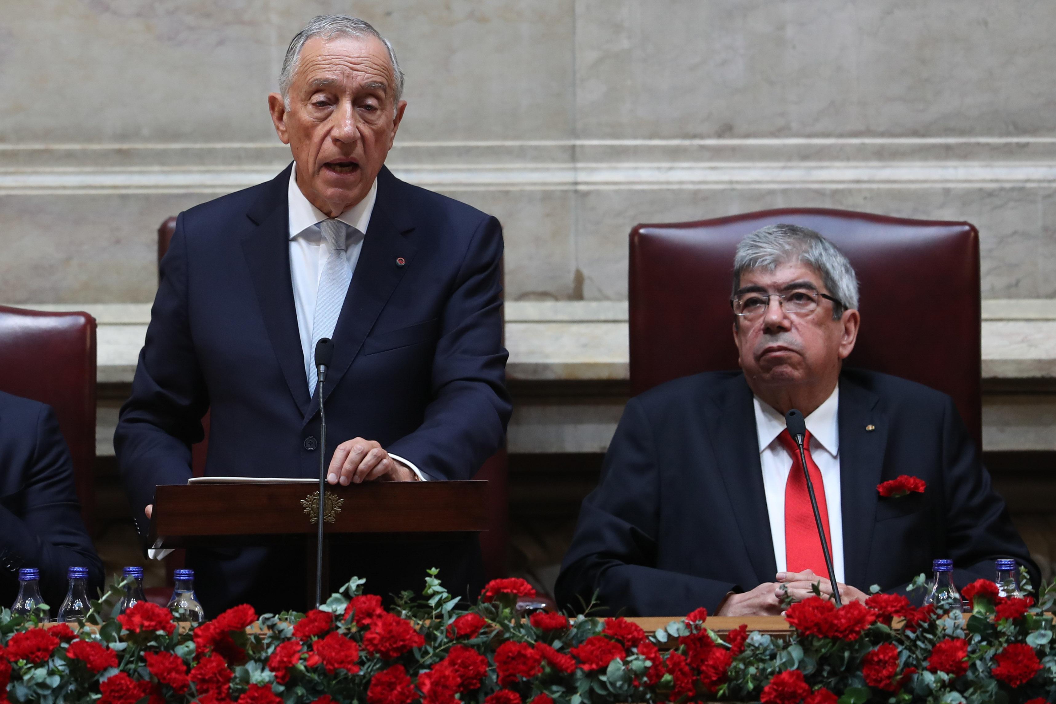 """Presidente da República pede """"mais ambição"""" para resolver problemas"""