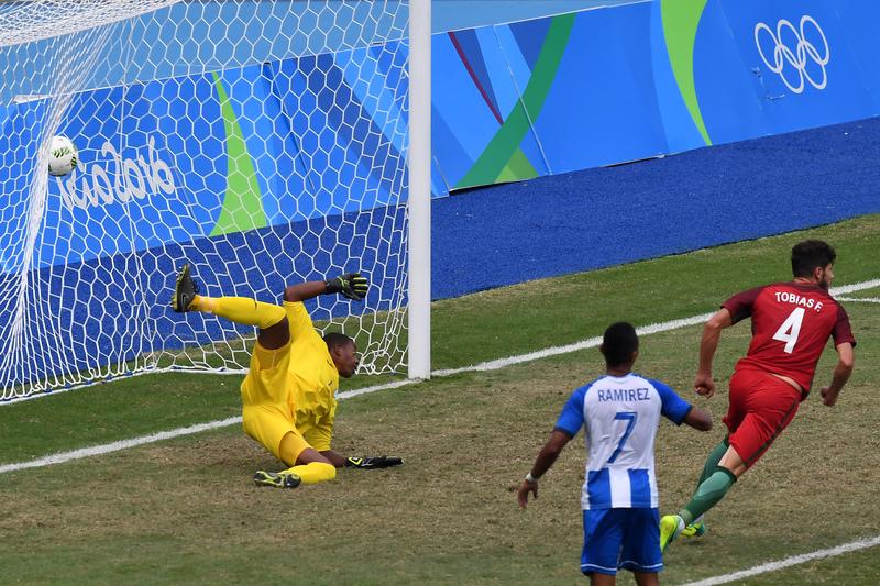 Rio2016/Futebol: Portugal - Honduras
