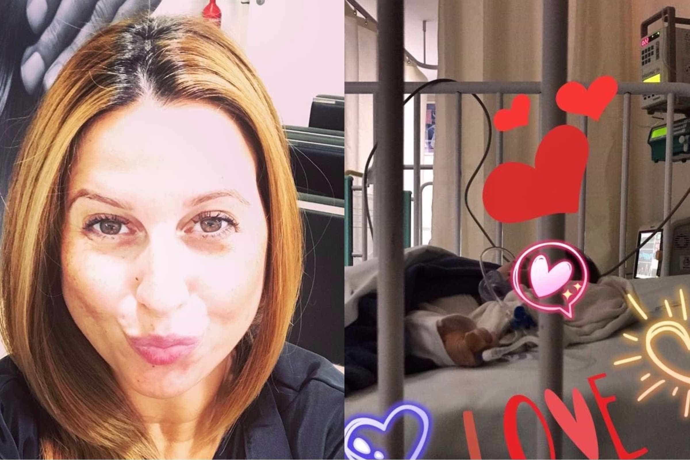 Filho de Daniela Pimenta novamente hospitalizado