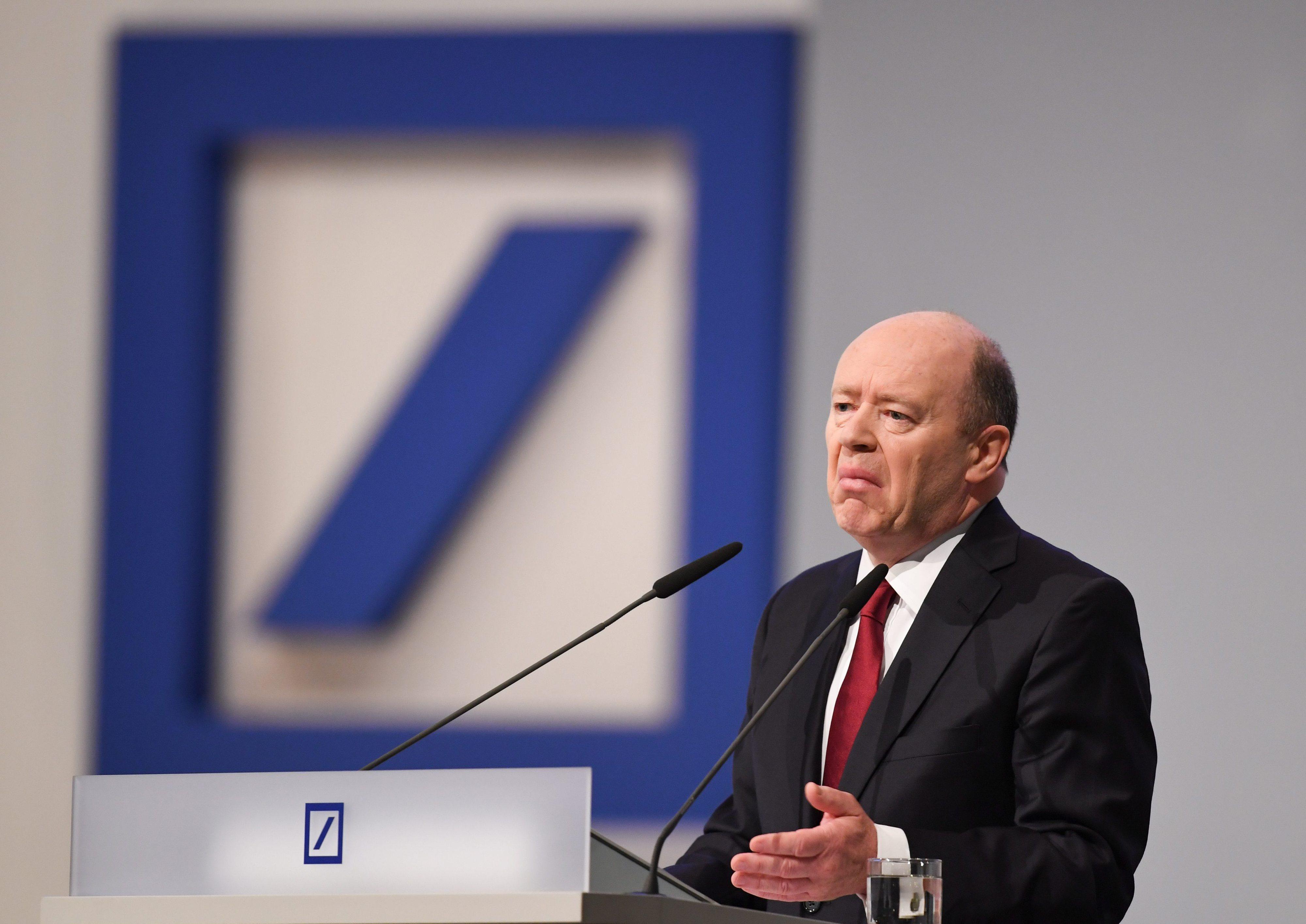 Presidente do Deutsche Bank critica taxas de juro baixas