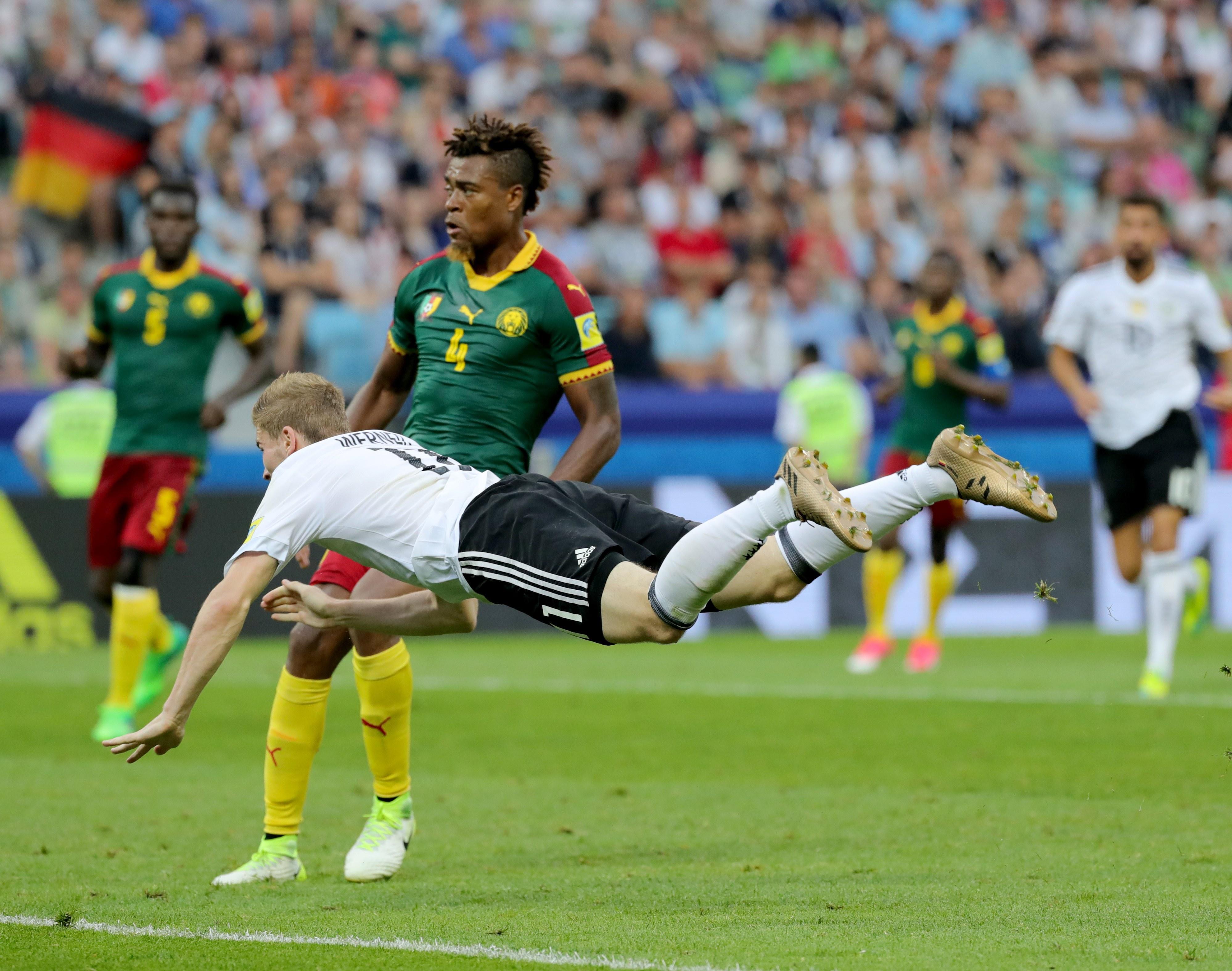 Alemanha garante 1.º lugar do grupo com vitória fácil sobre os Camarões