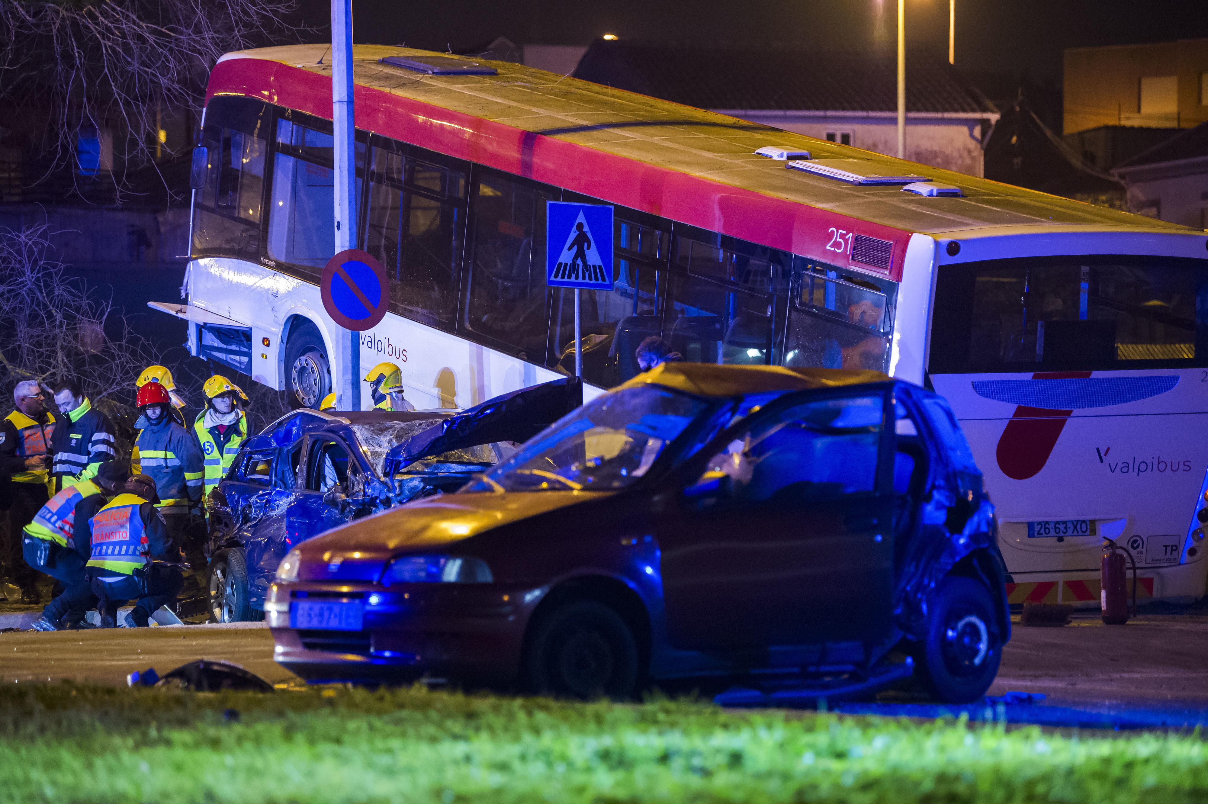Aumenta para seis número de feridos em acidente mortal em São Mamede de Infesta
